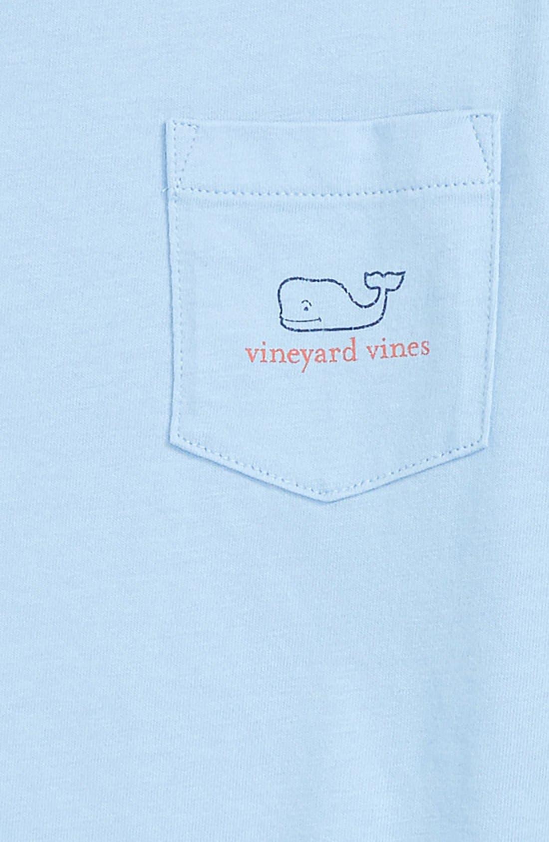 Vintage Whale Long Sleeve Pocket T-Shirt,                             Alternate thumbnail 20, color,