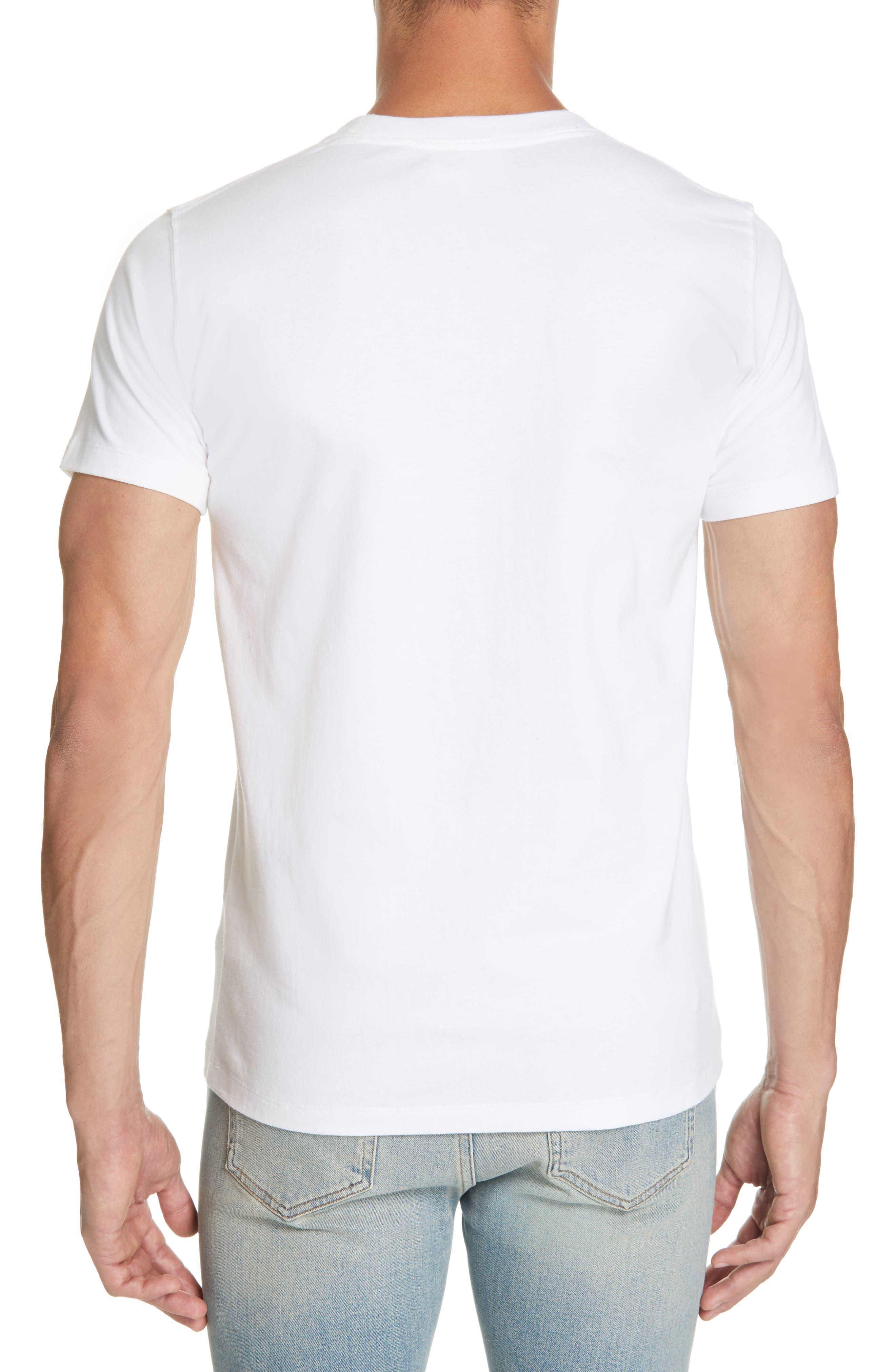 Daniel Frost - Hanging Graphic T-Shirt,                             Alternate thumbnail 2, color,                             WHITE