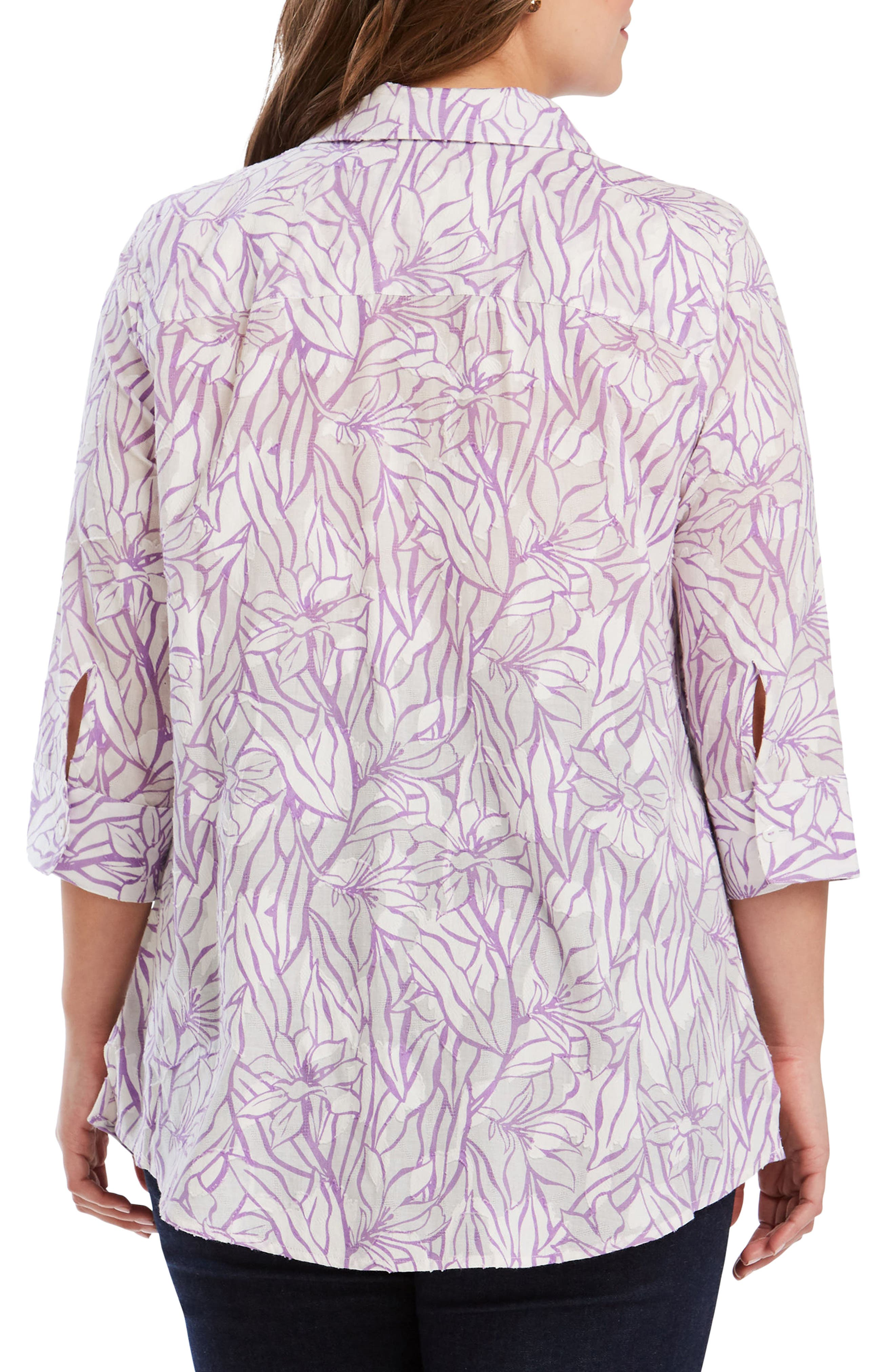 Faith Floral Jacquard Shirt,                             Alternate thumbnail 2, color,                             530