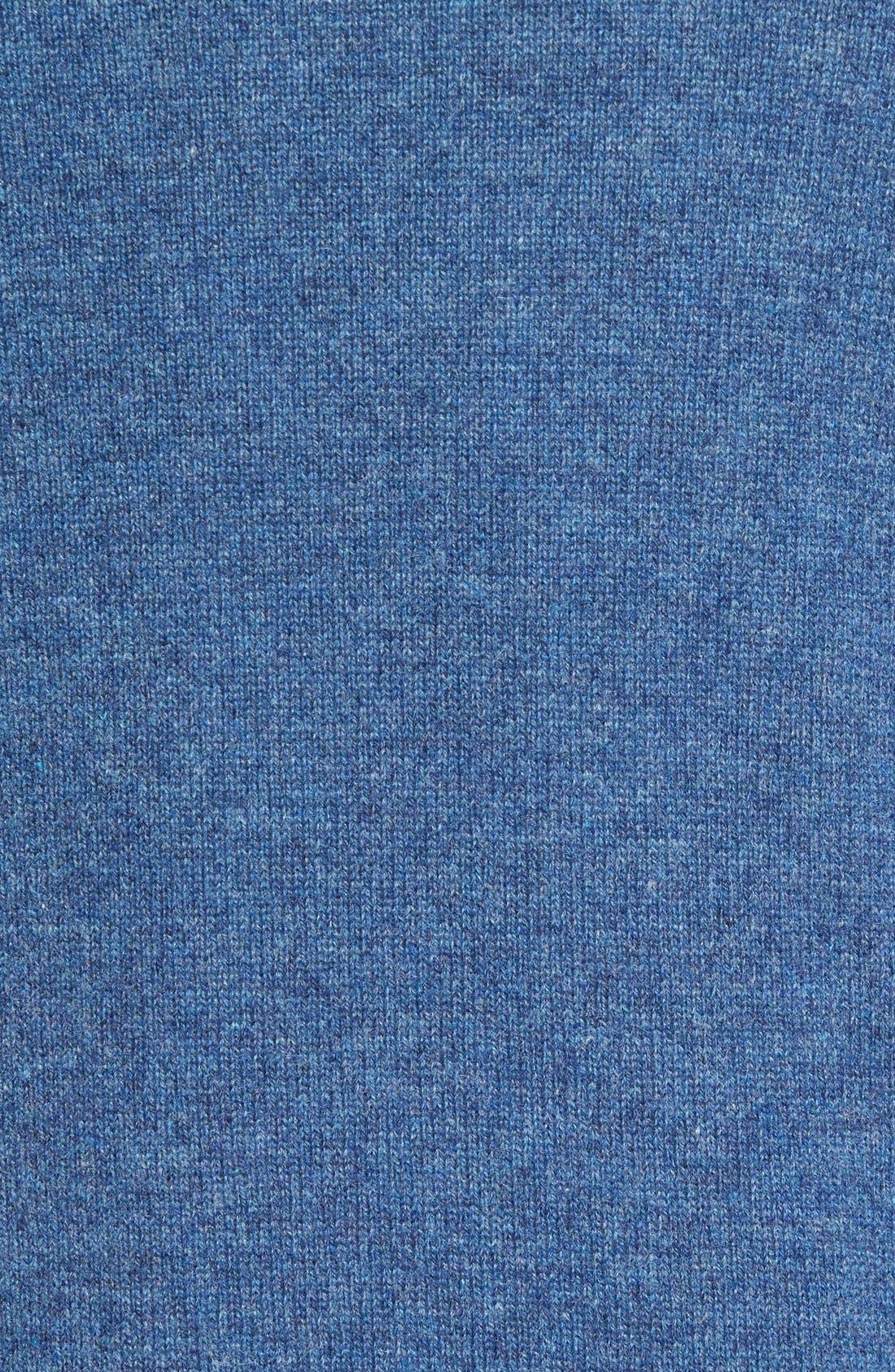 Cashmere Quarter Zip Sweater,                             Alternate thumbnail 40, color,