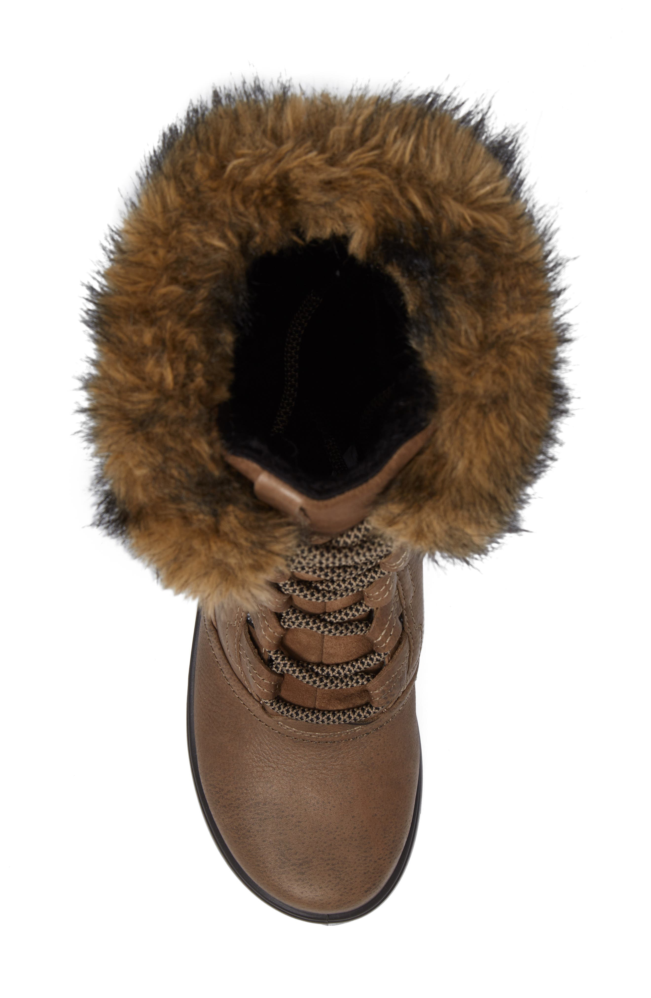 Noyce Siberia Hydromax Water Resistant Winter Boot with Faux Fur Trim,                             Alternate thumbnail 5, color,                             212