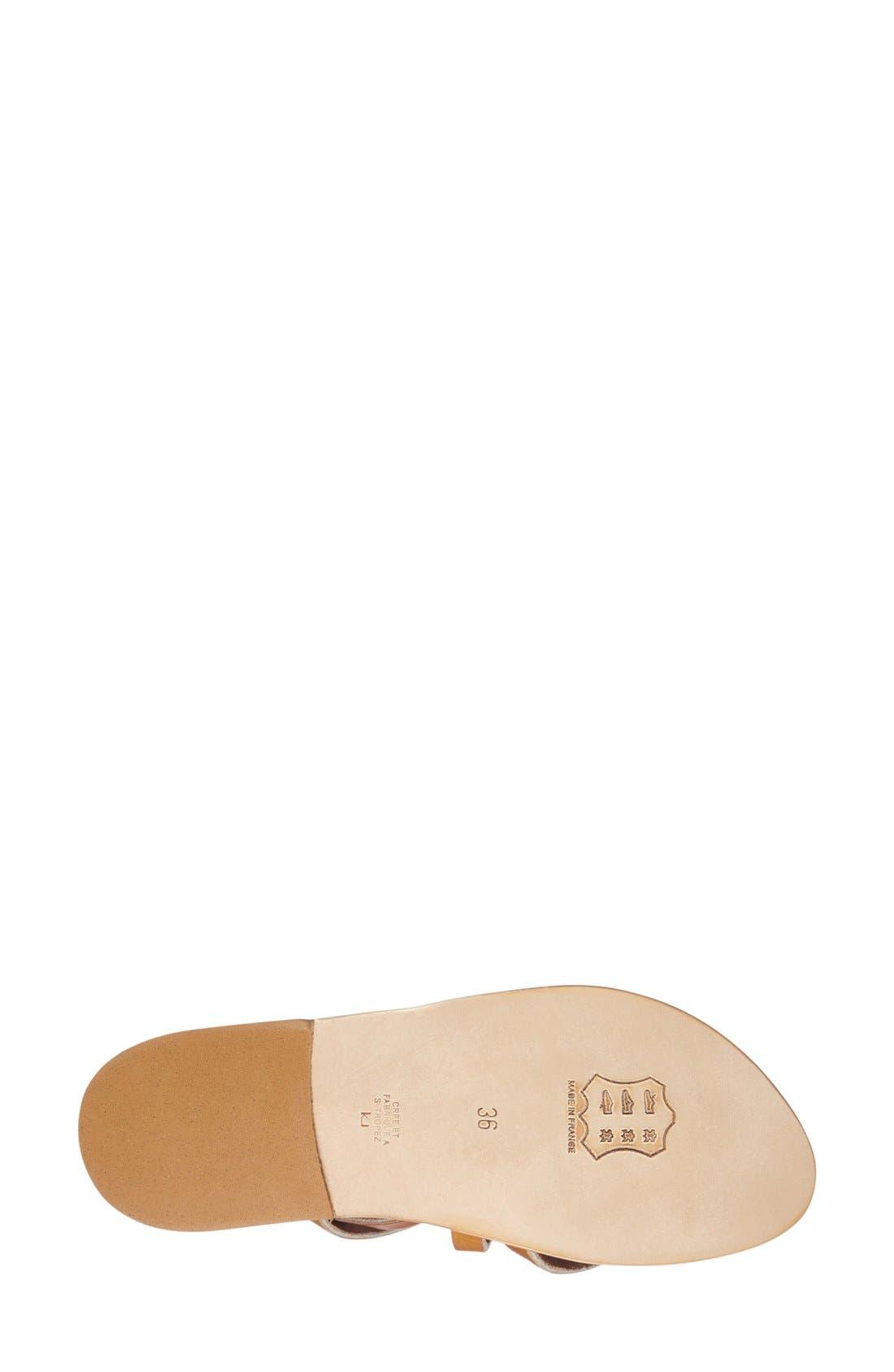 'Epicure' Sandal,                             Alternate thumbnail 4, color,                             200