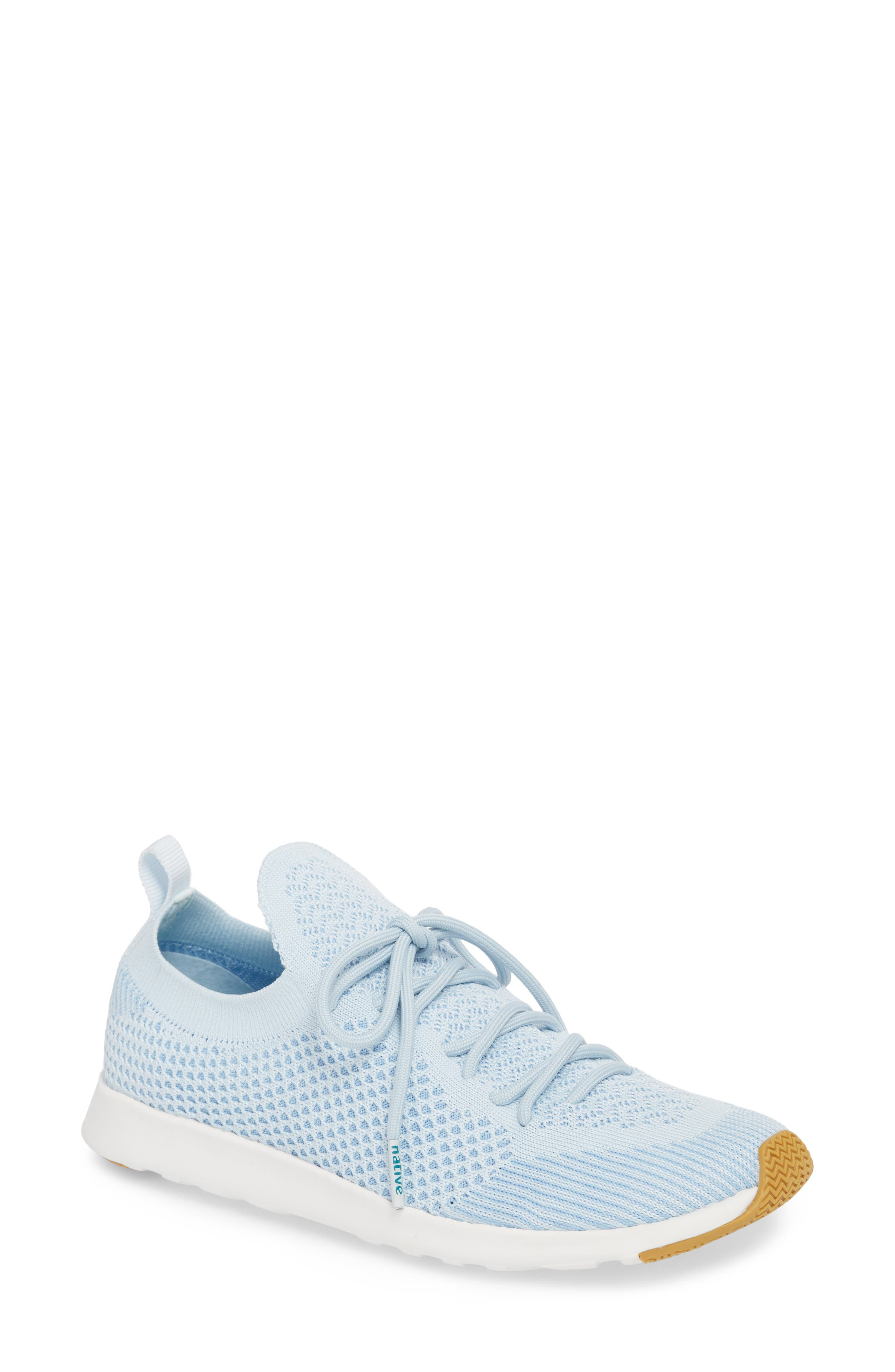 AP Mercury Liteknit Sneaker,                         Main,                         color, AIR BLUE/ SHELL WHITE/ NATURAL