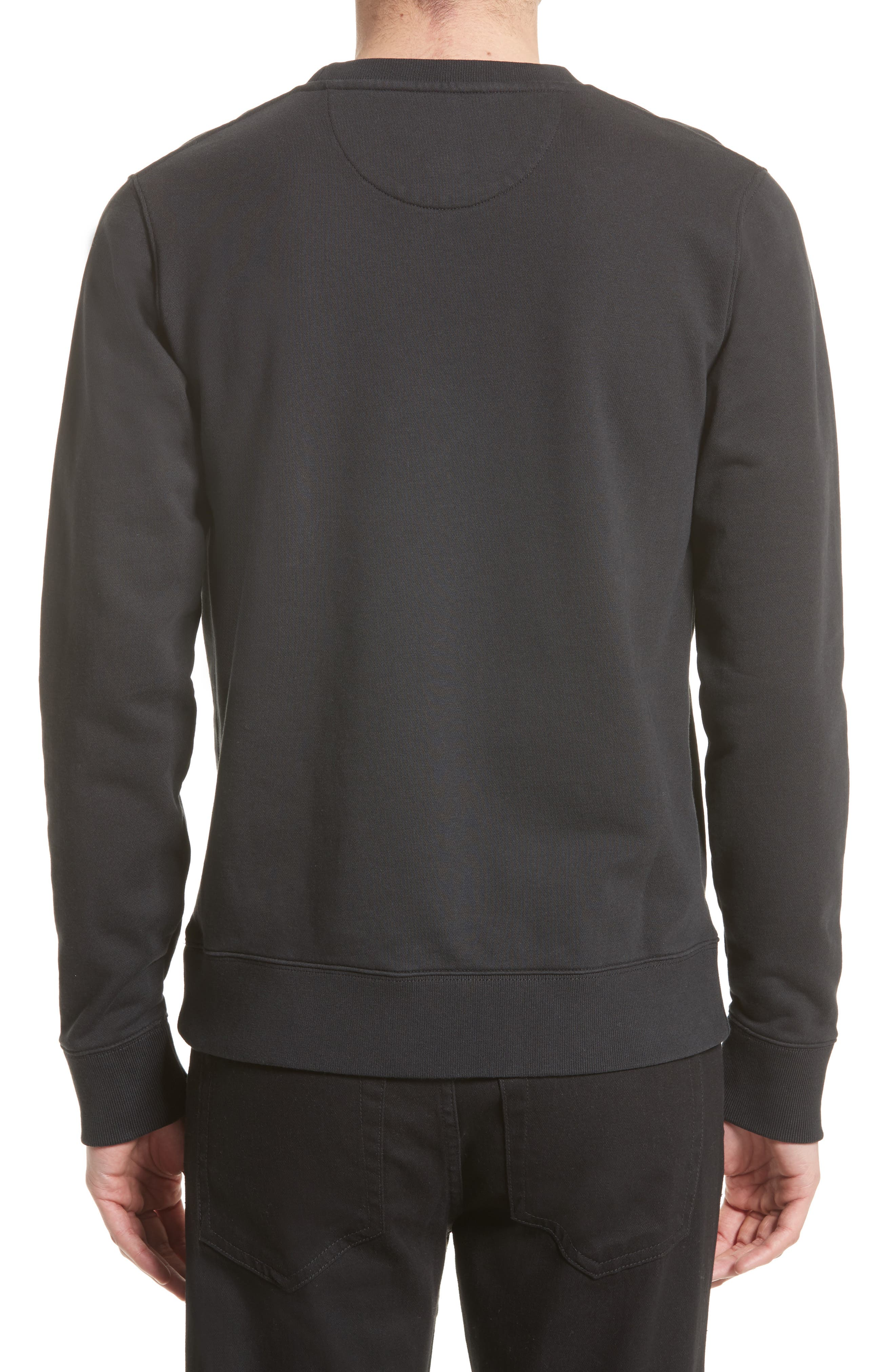 Bowery Logo Graphic Sweatshirt,                             Alternate thumbnail 2, color,                             001