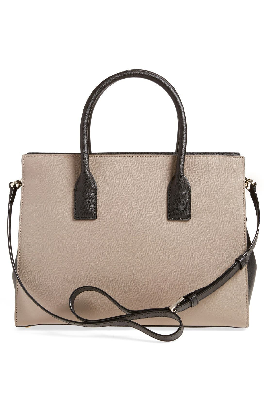 cameron street - candace leather satchel,                             Alternate thumbnail 32, color,