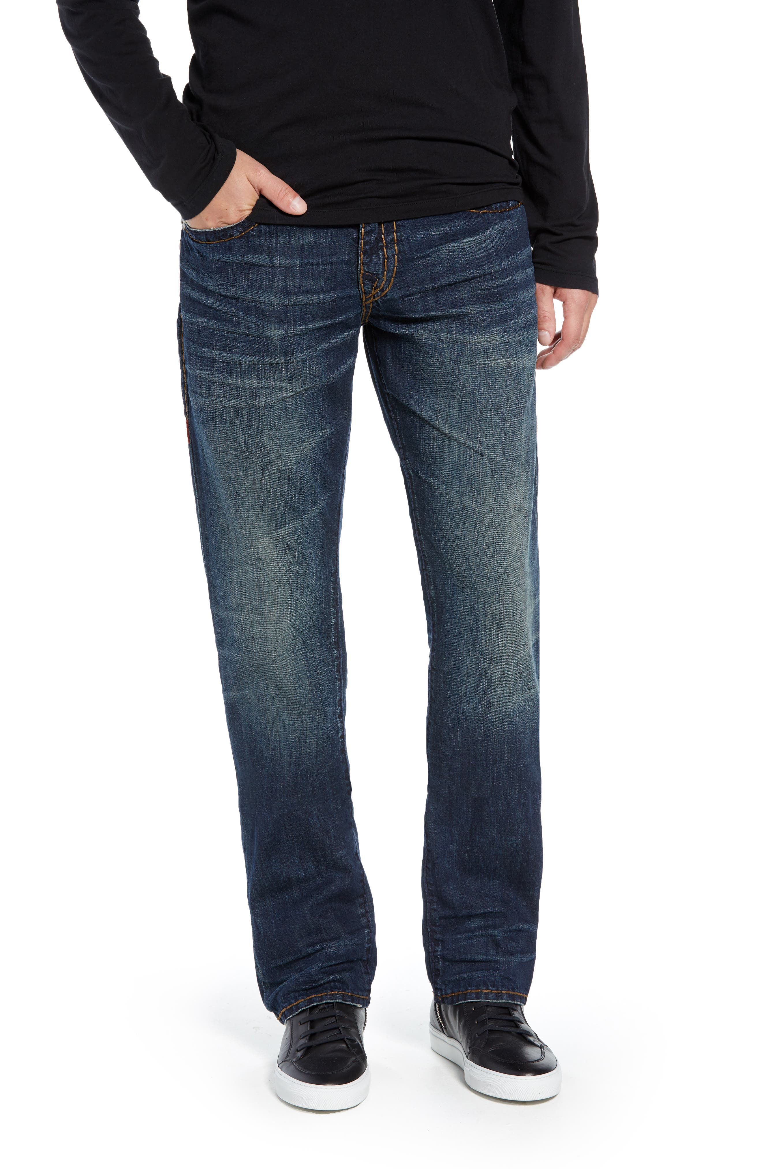 Ricky Skinny Fit Jeans,                         Main,                         color, DARK MONORAIL