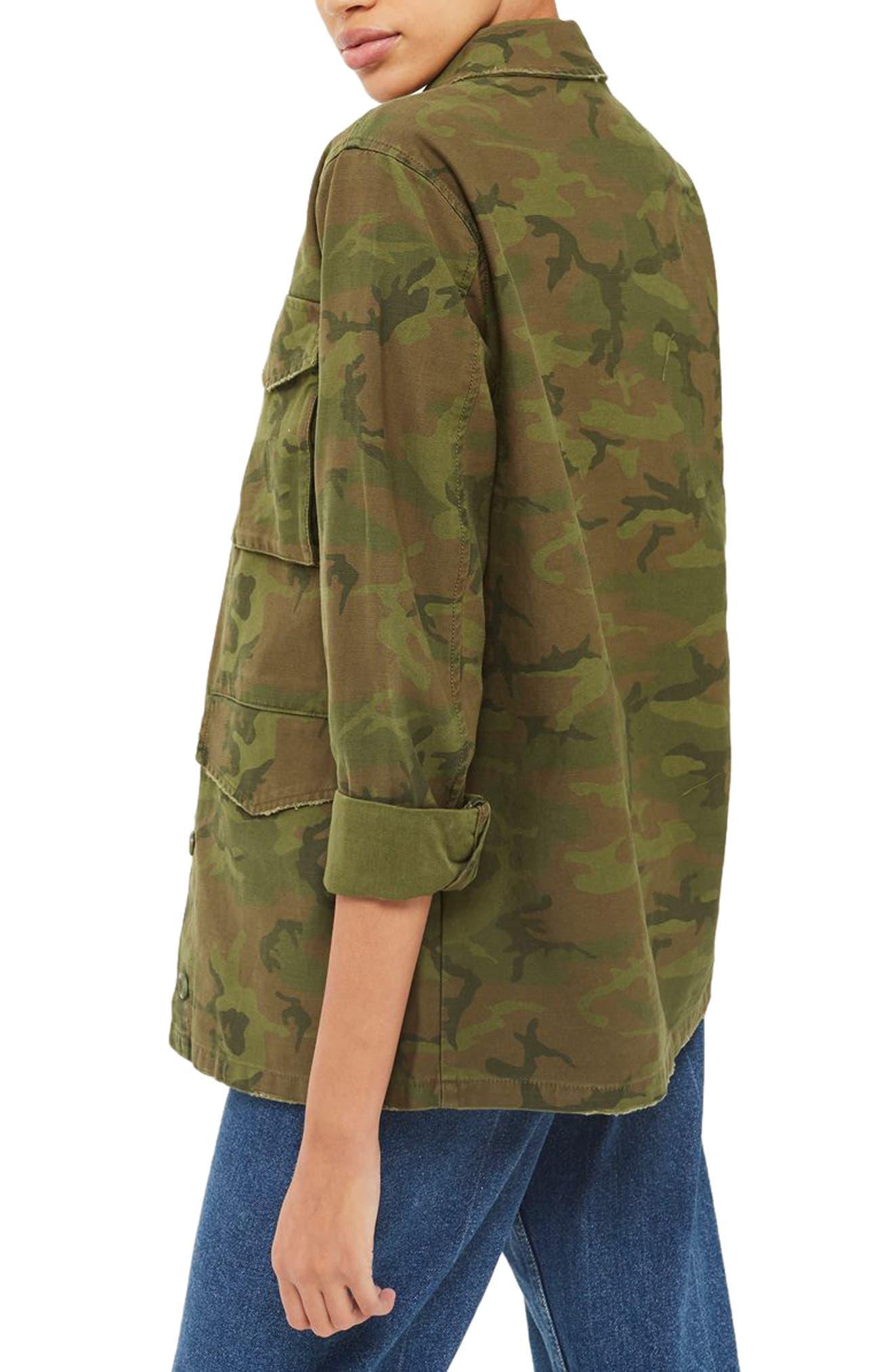 Stanley Camo Shirt Jacket,                             Alternate thumbnail 2, color,                             300