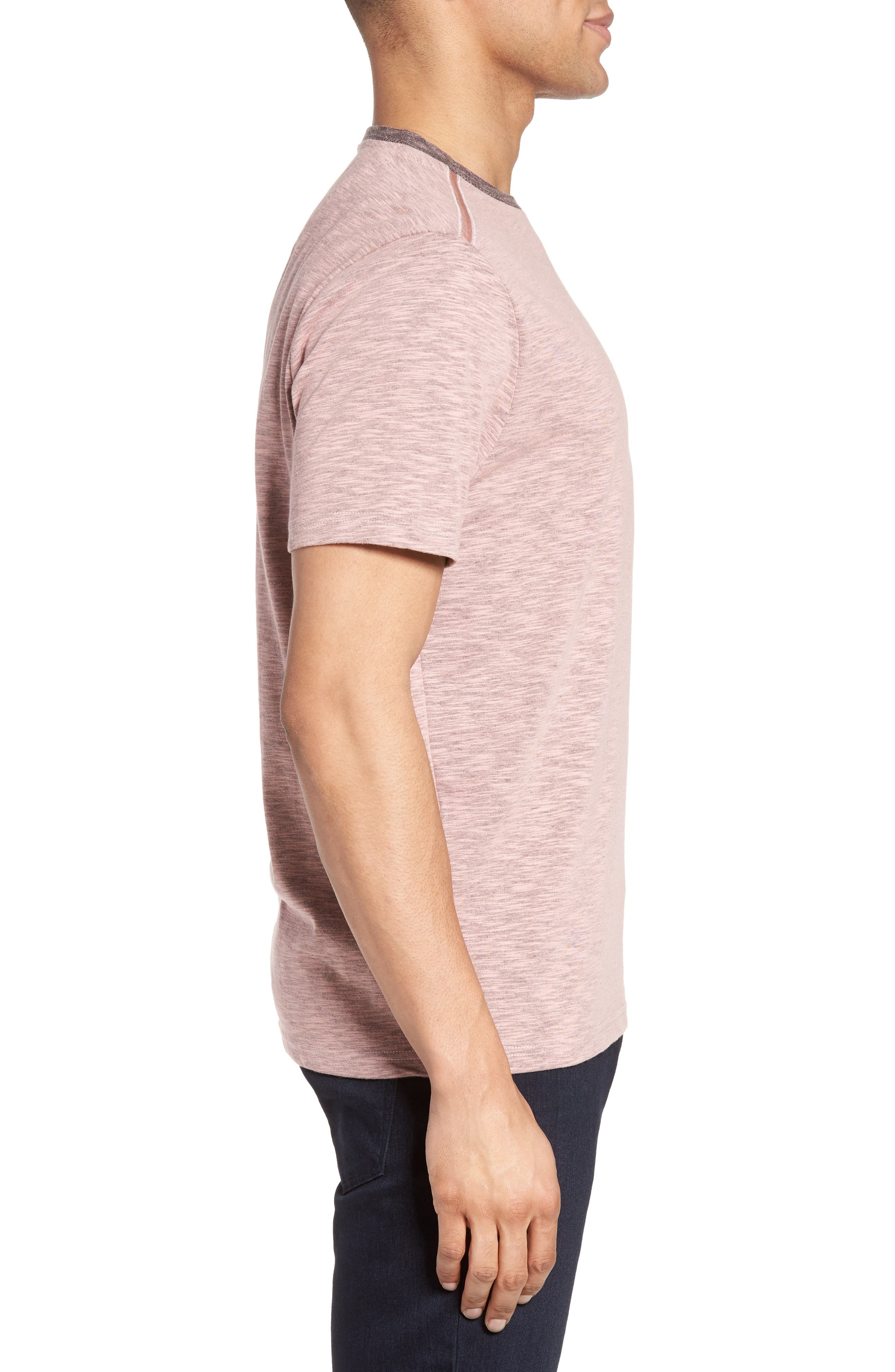 Ringer T-Shirt,                             Alternate thumbnail 6, color,