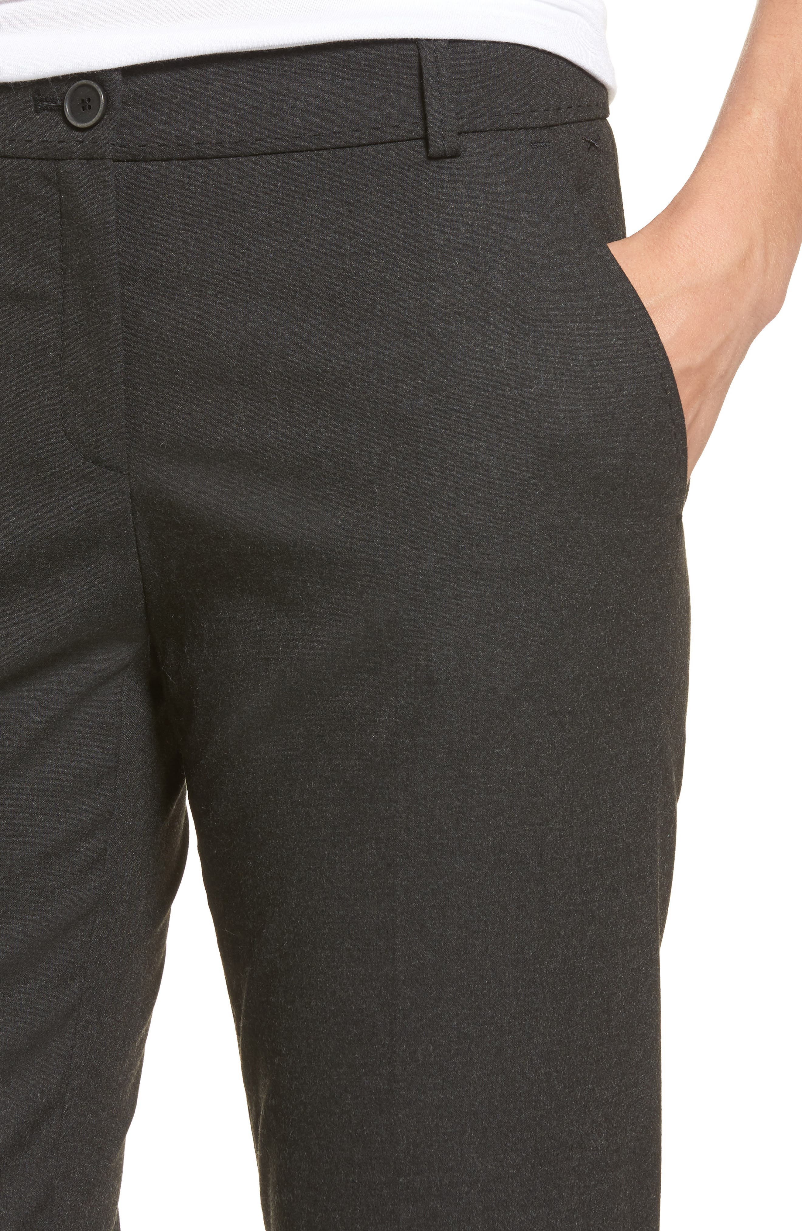 Straight Leg Trousers,                             Alternate thumbnail 11, color,