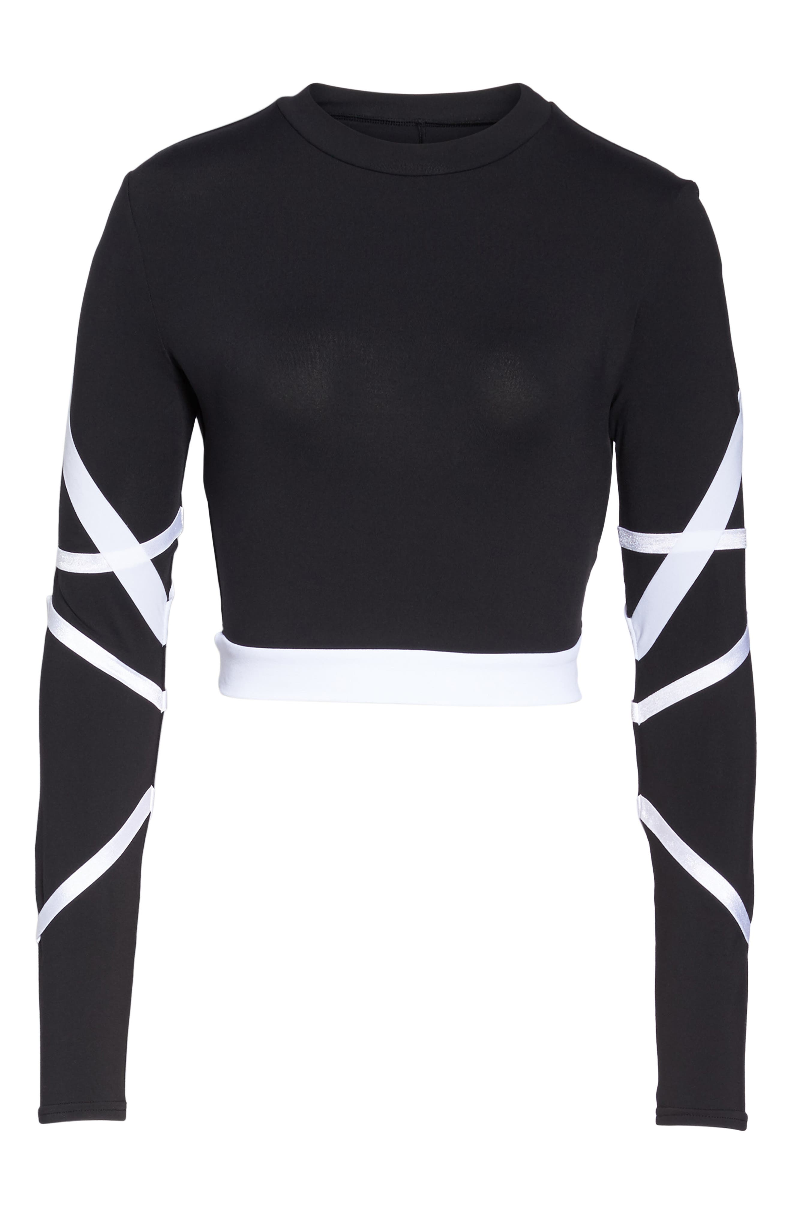 Tribe Long Sleeve Top,                             Alternate thumbnail 18, color,