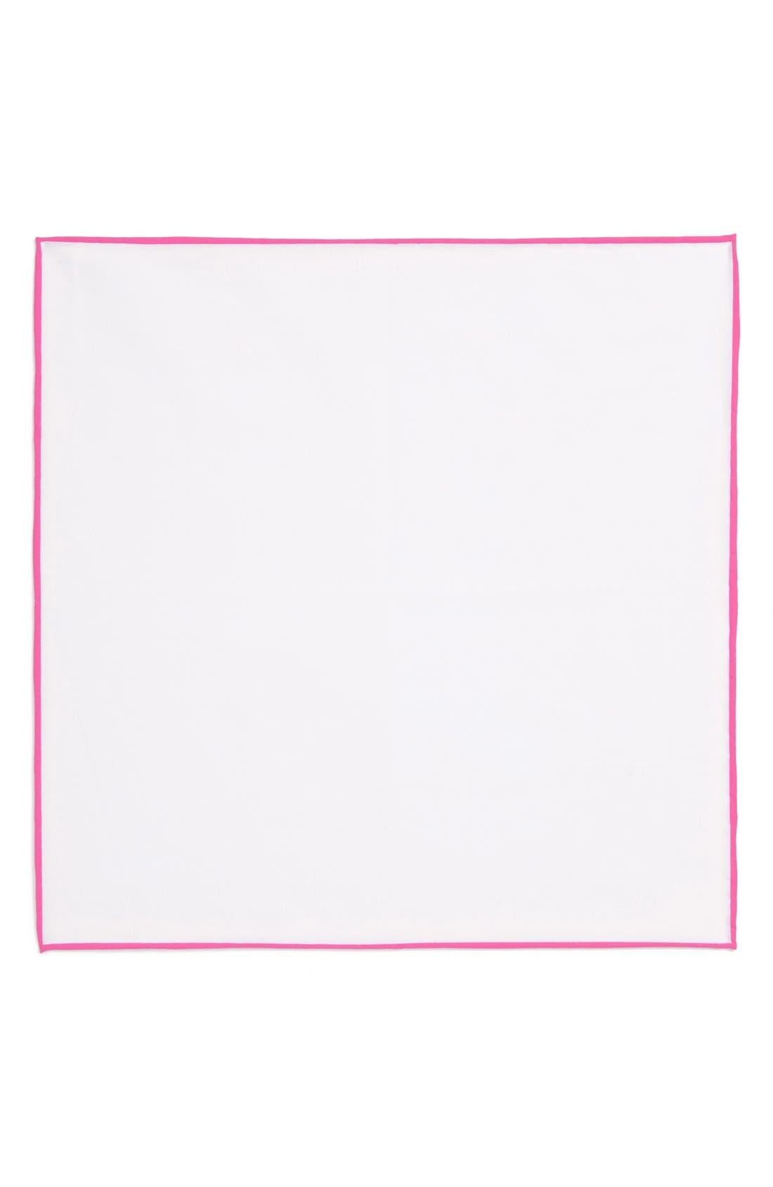 Cotton Solid Pocket Square,                             Alternate thumbnail 18, color,