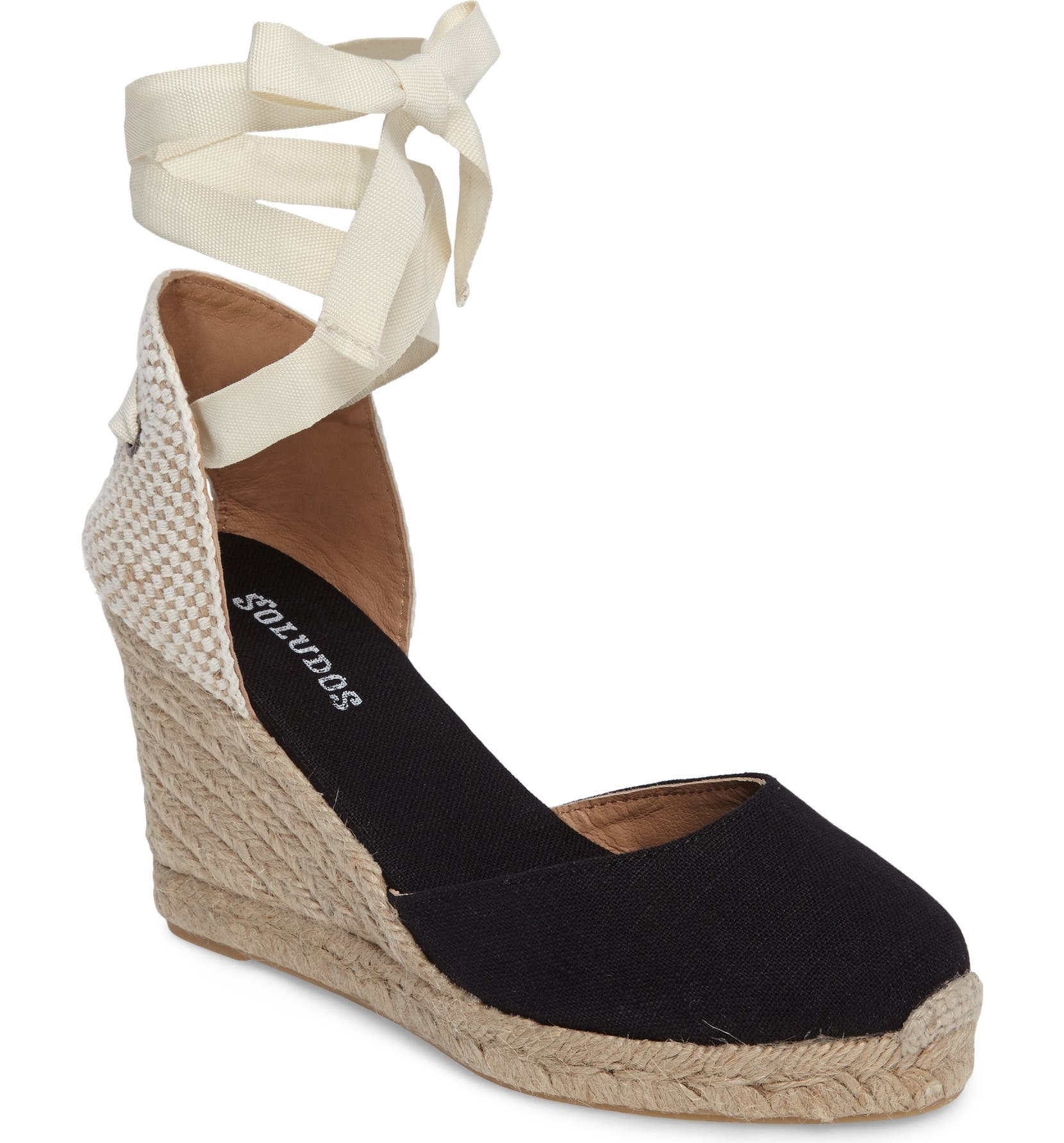Soludos Wedge Wedge Soludos Lace Up Espadrille Sandale (Damens)   Nordstrom d399a7