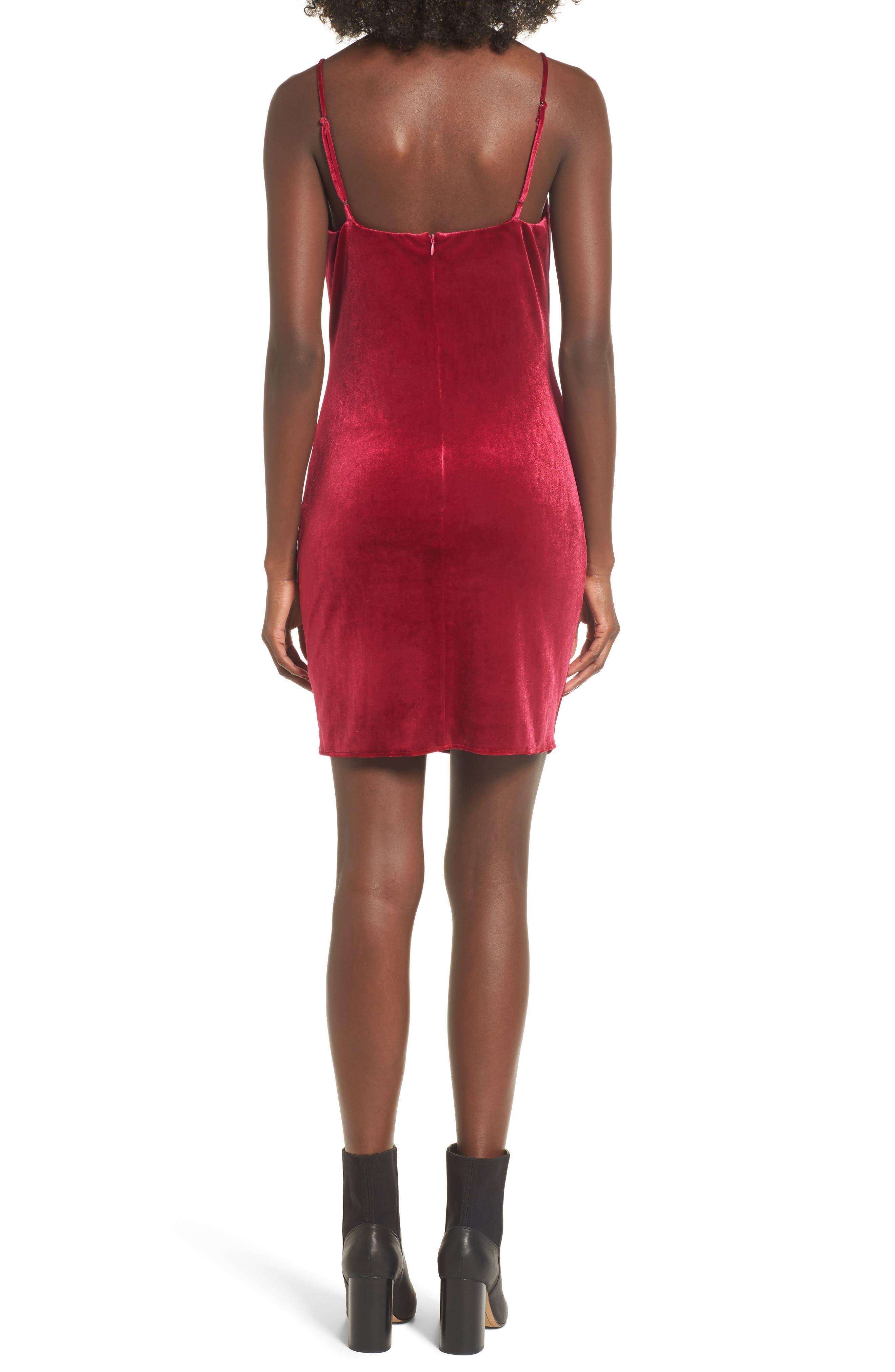 Grace Velvet Sheath Dress,                             Alternate thumbnail 4, color,