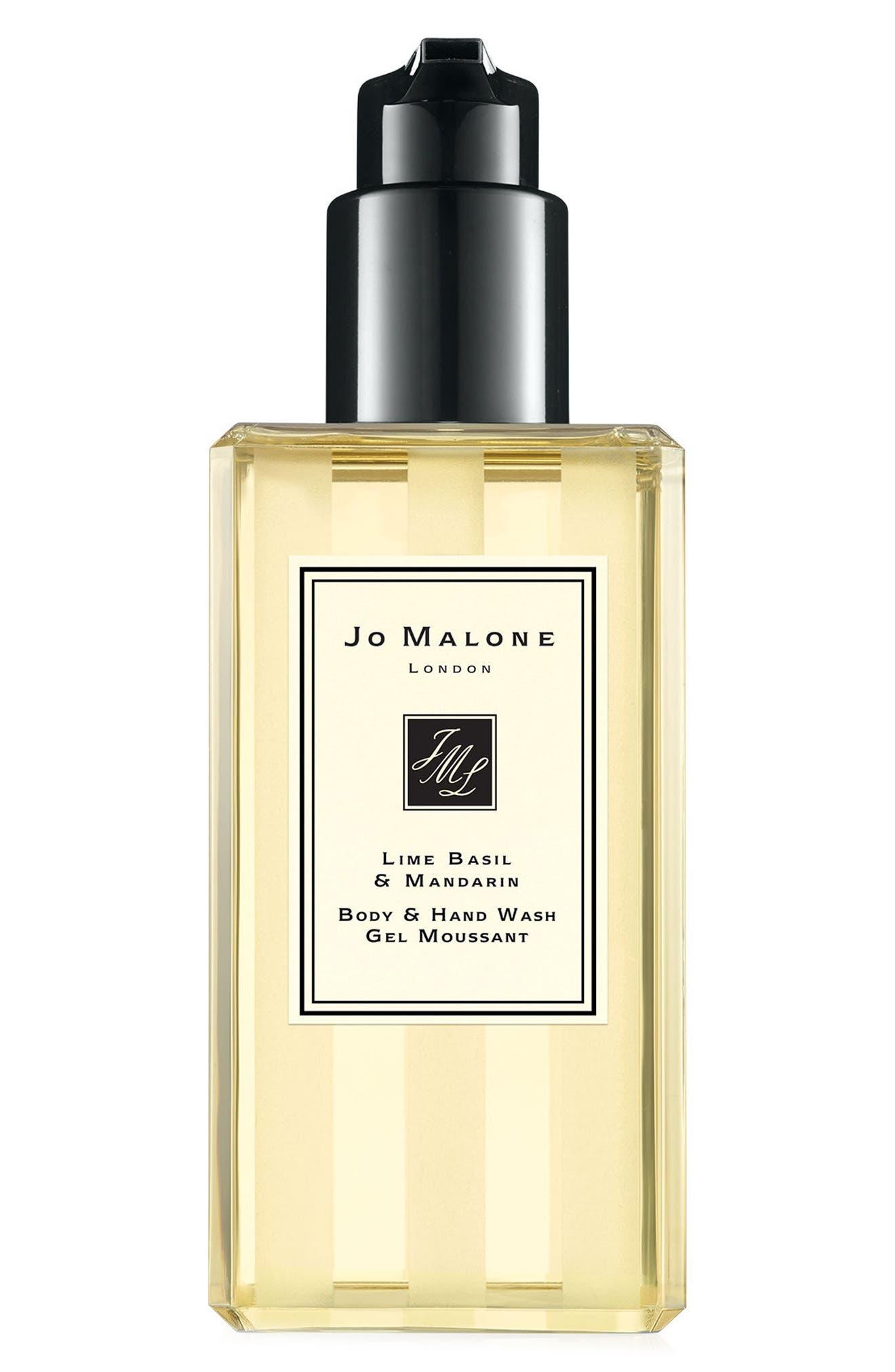 Lime Basil & Mandarin Body & Hand Wash,                         Main,                         color, 000