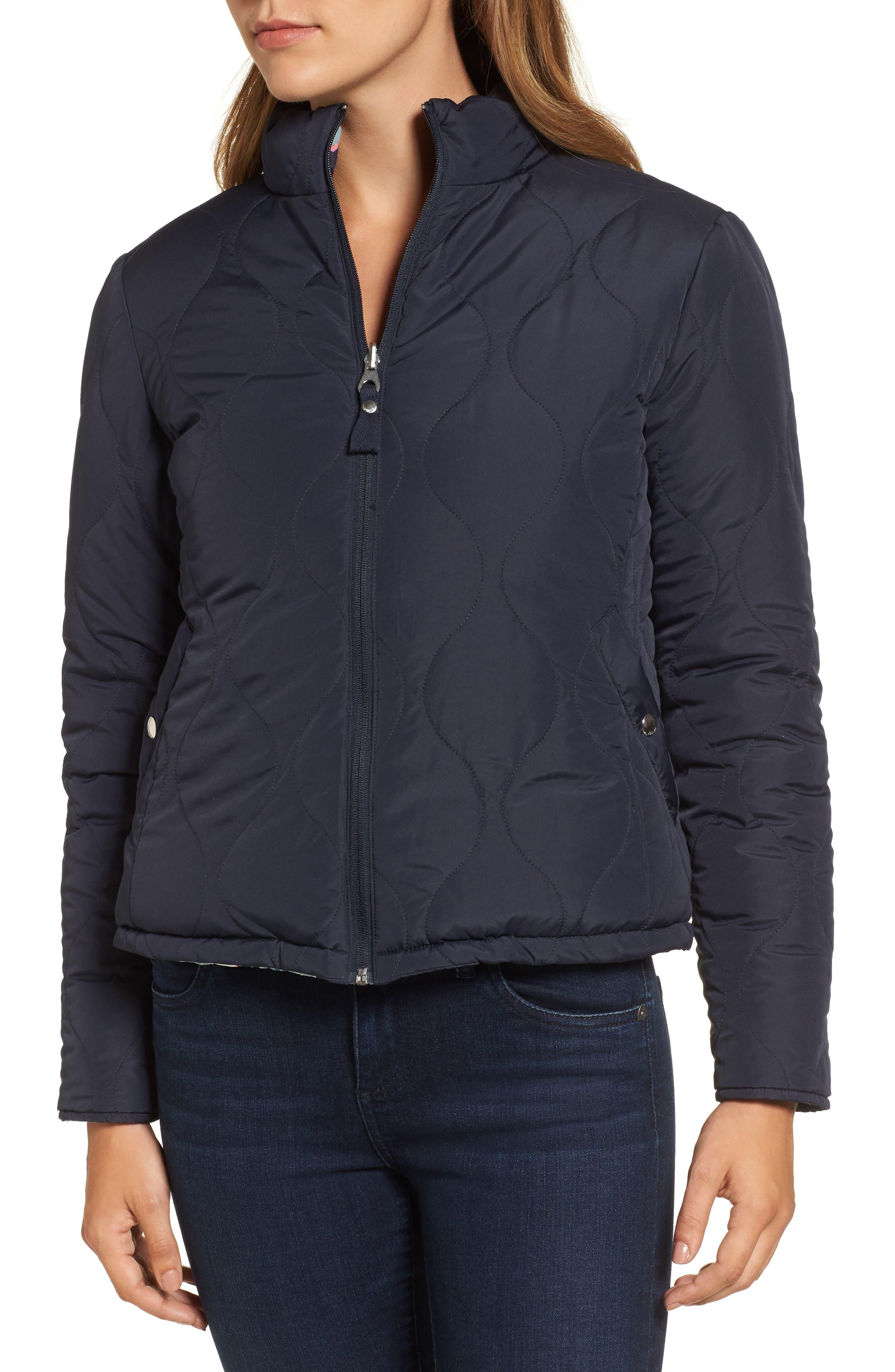 Reversible Puffer Jacket,                             Alternate thumbnail 4, color,                             407