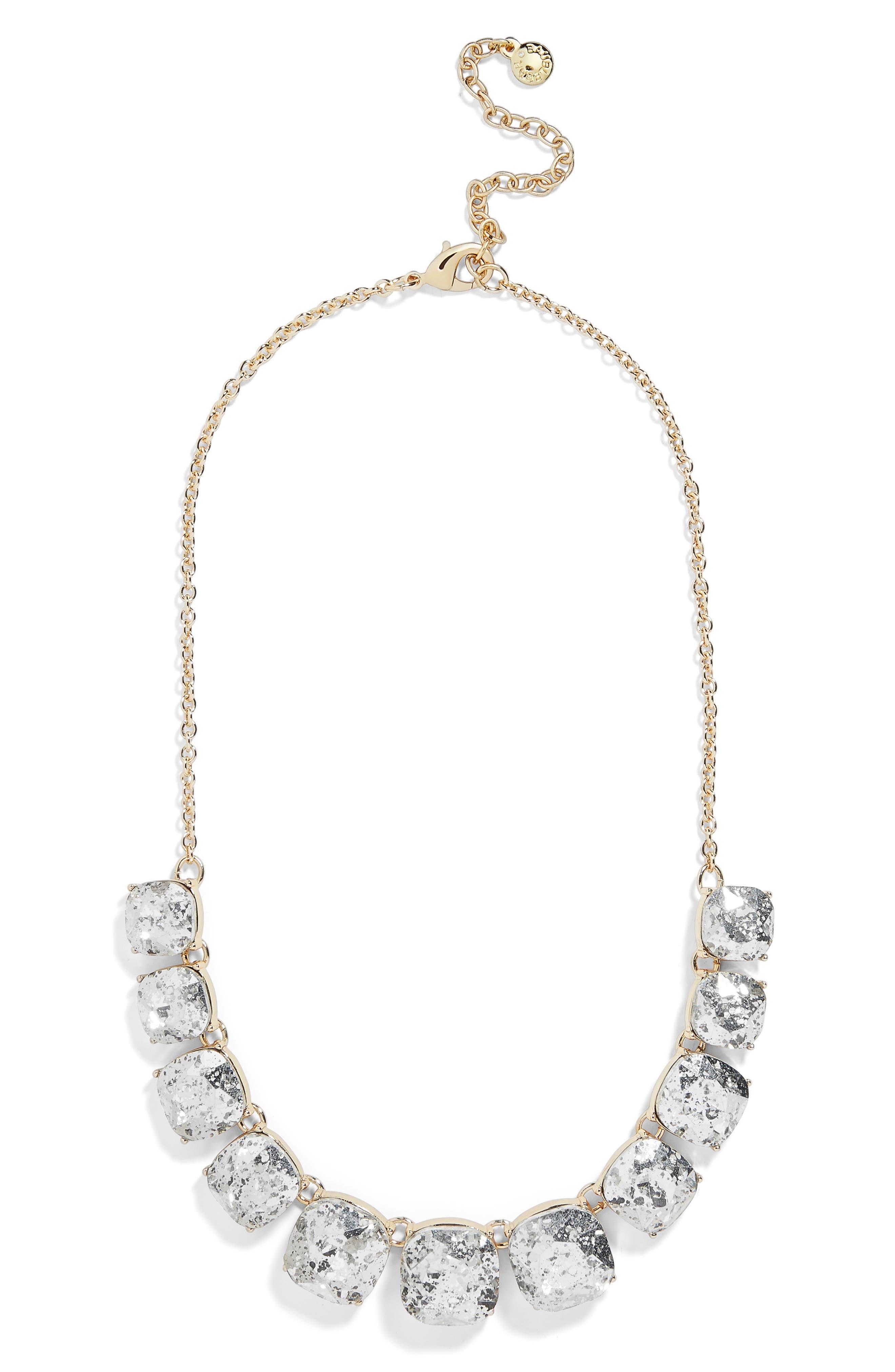 x Micaela Erlanger Midnight in Paris Statement Necklace,                         Main,                         color, GOLD