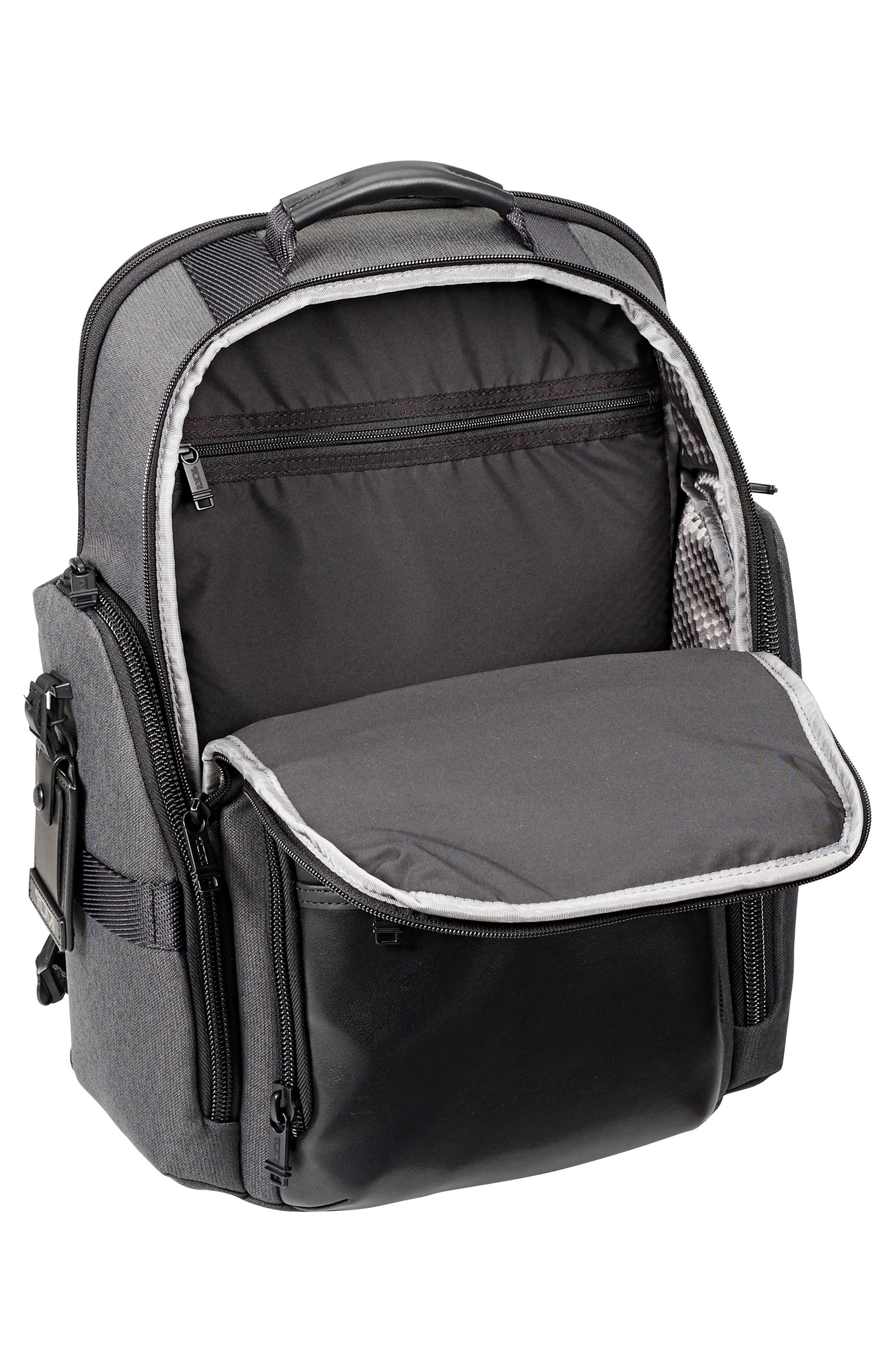 Alpha Bravo - Sheppard Deluxe Backpack,                             Alternate thumbnail 5, color,                             ANTHRACITE