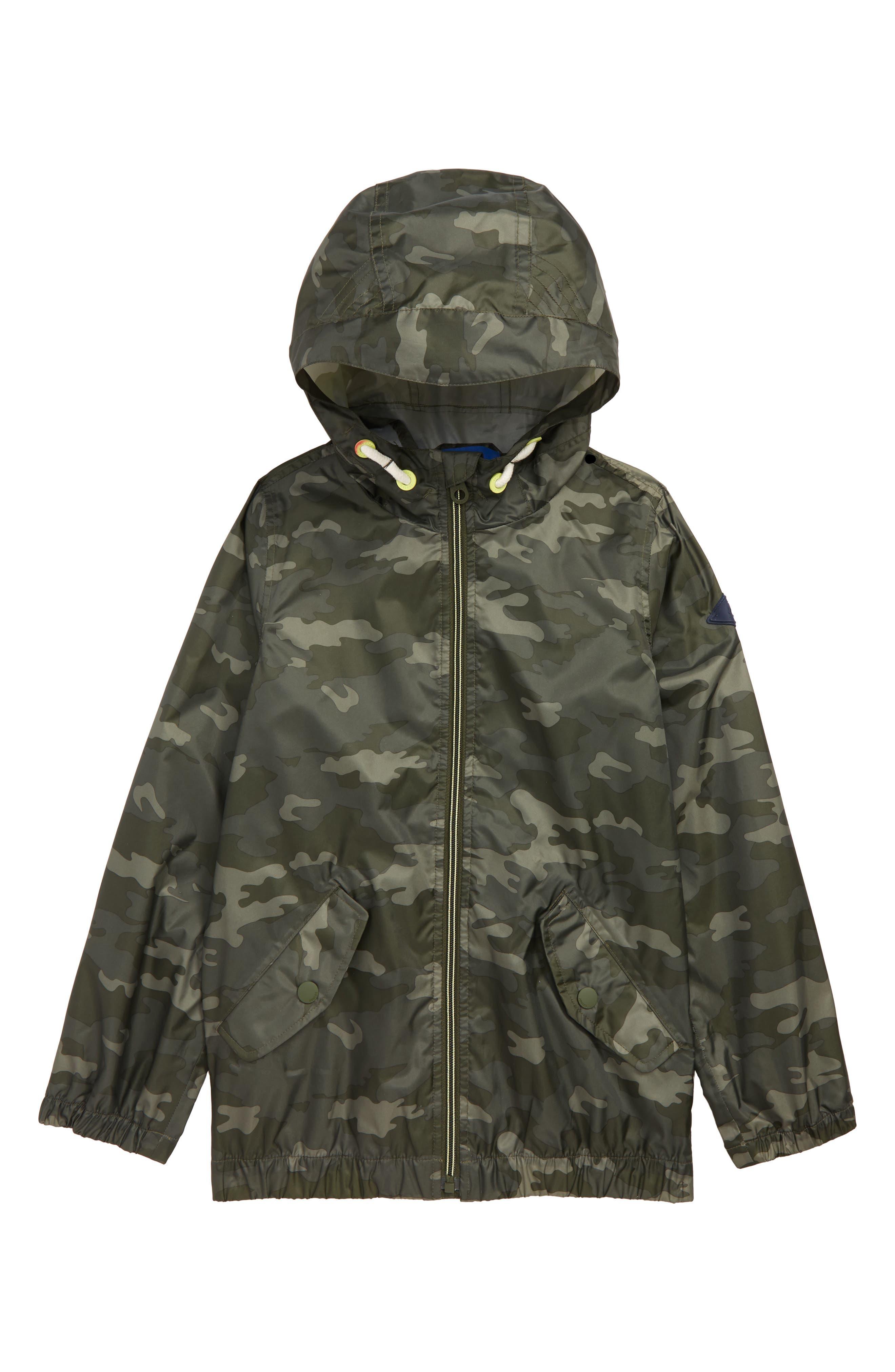 Boys Joules Rowan Lightweight Raincoat Size 6Y  Green