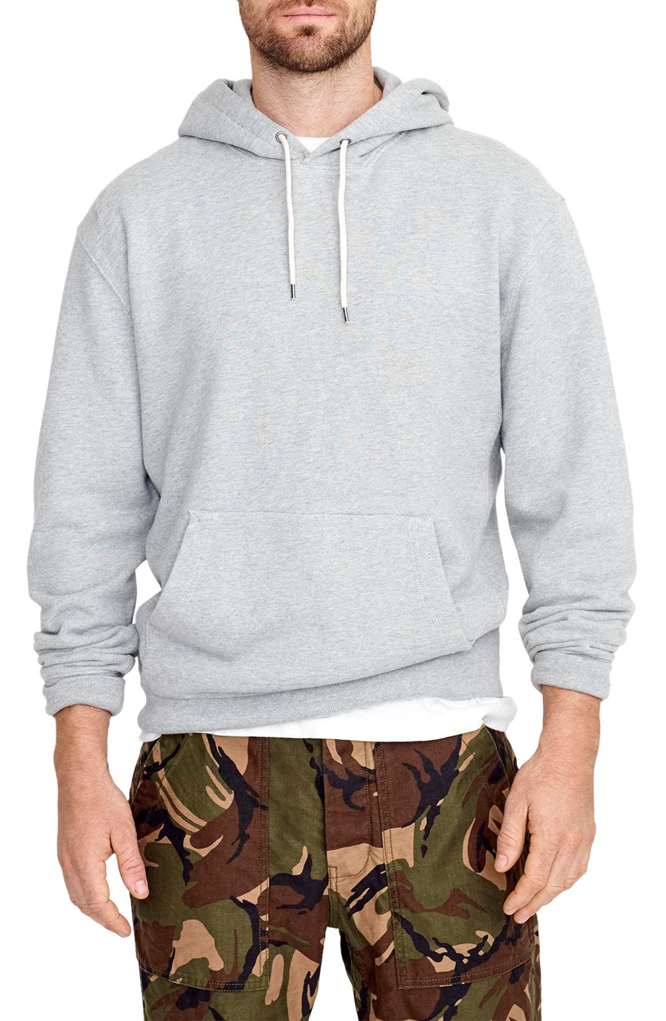 French Terry Pullover Hoodie,                             Main thumbnail 1, color,                             021