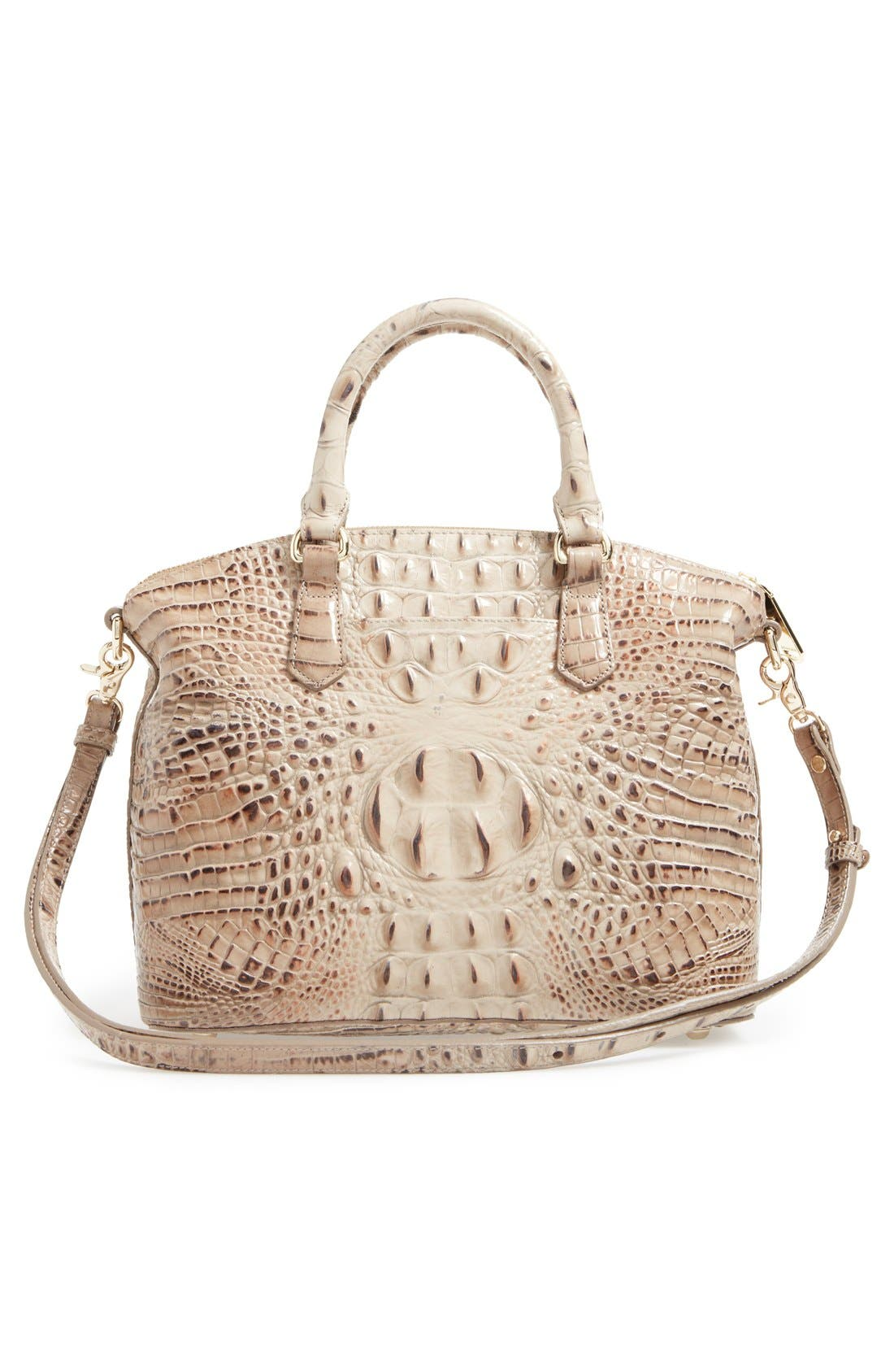 'Medium Duxbury' Croc Embossed Leather Satchel,                             Alternate thumbnail 97, color,