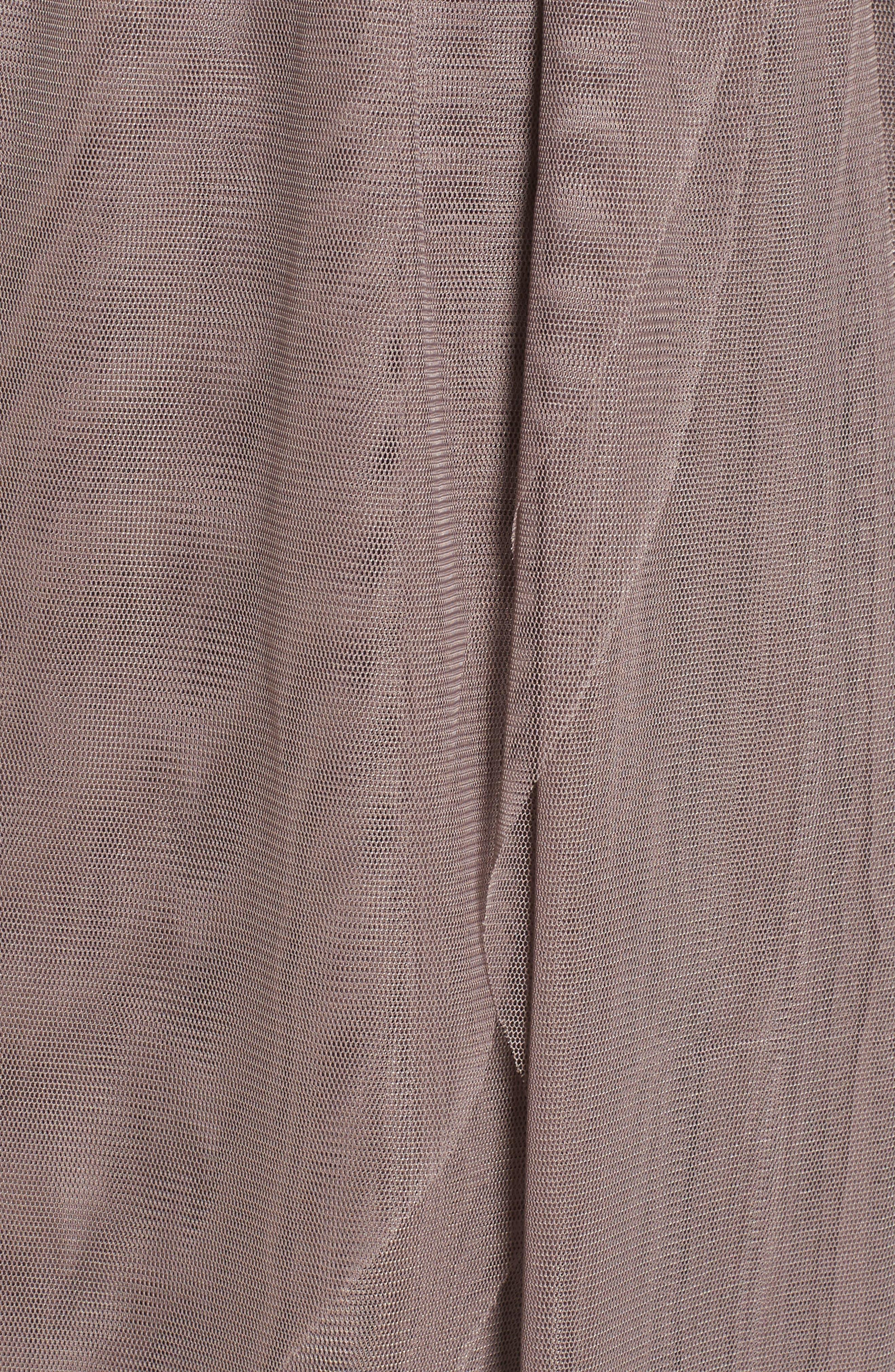 Mixed Media Midi Dress,                             Alternate thumbnail 5, color,                             238