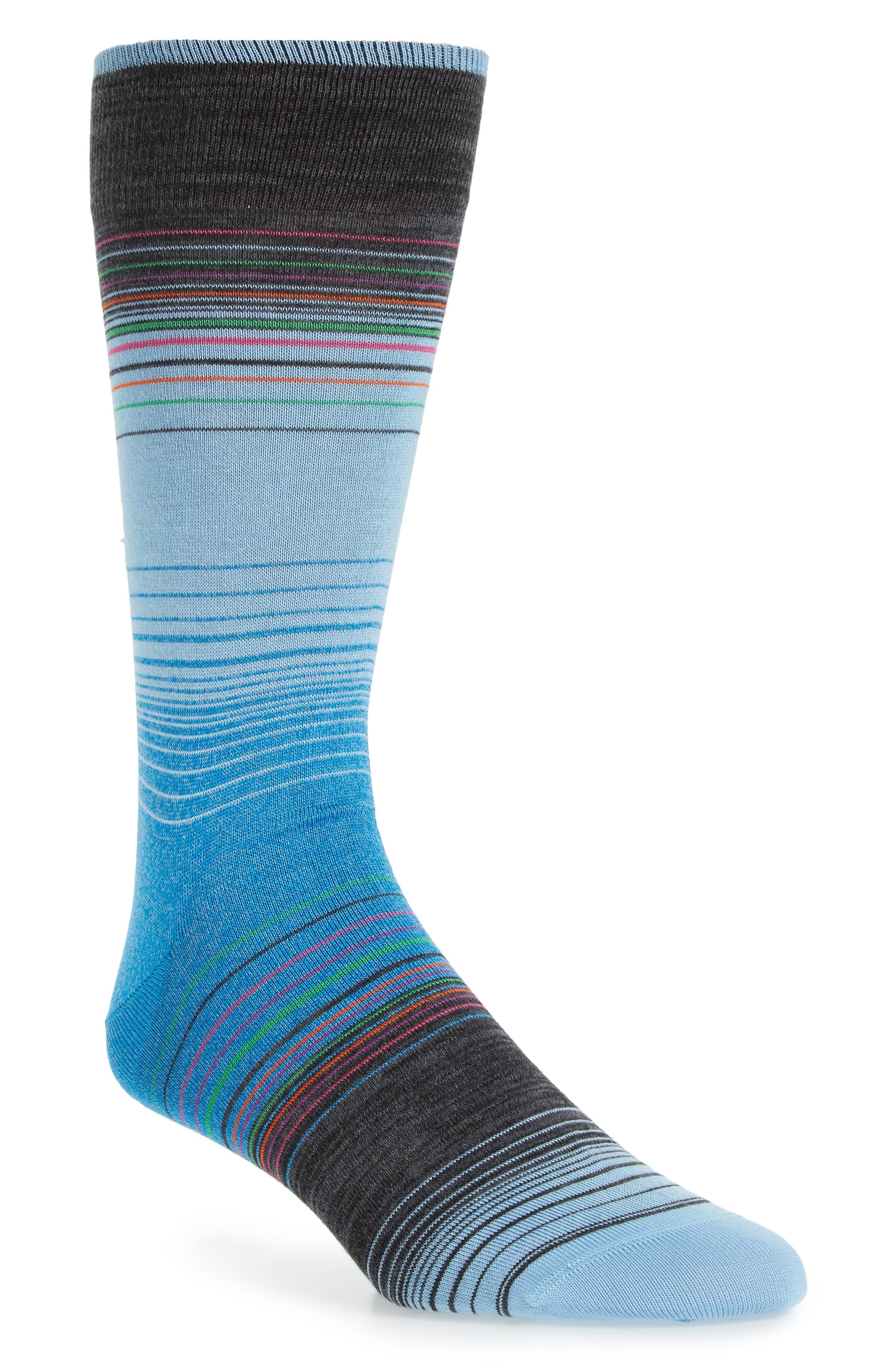 Stripe Socks,                         Main,                         color, 459