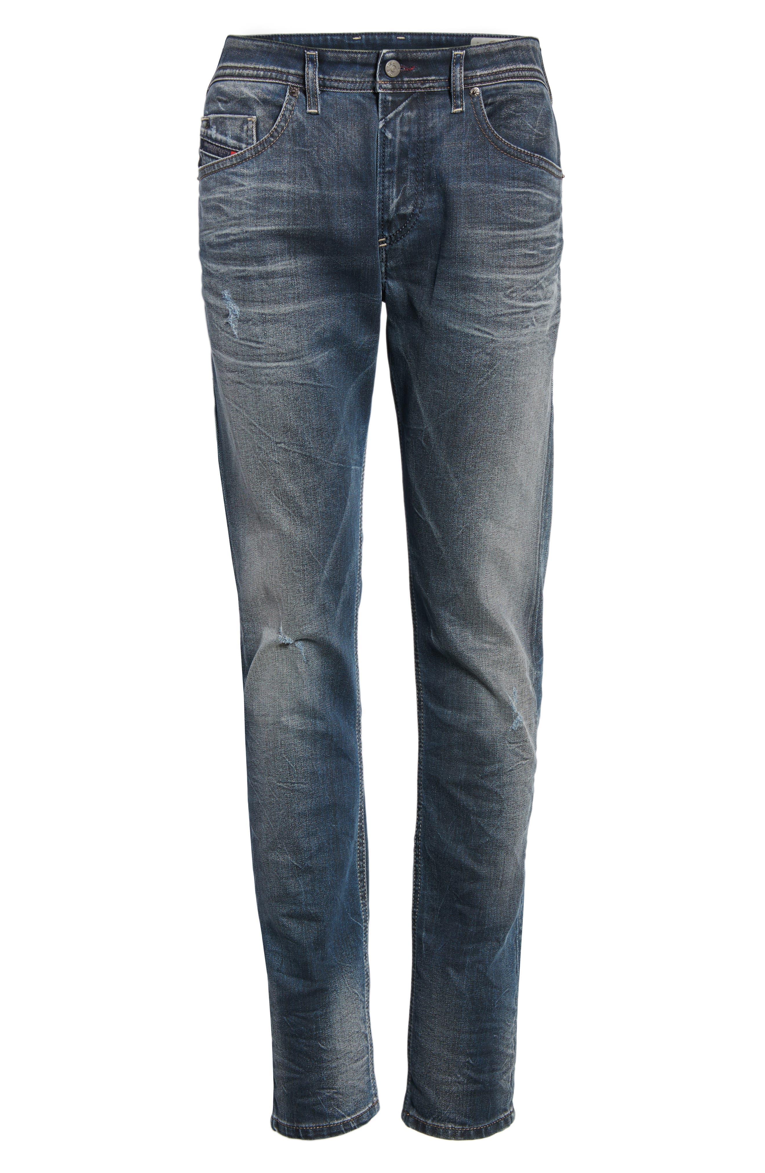 Thommer Slim Fit Jeans,                             Alternate thumbnail 6, color,                             400