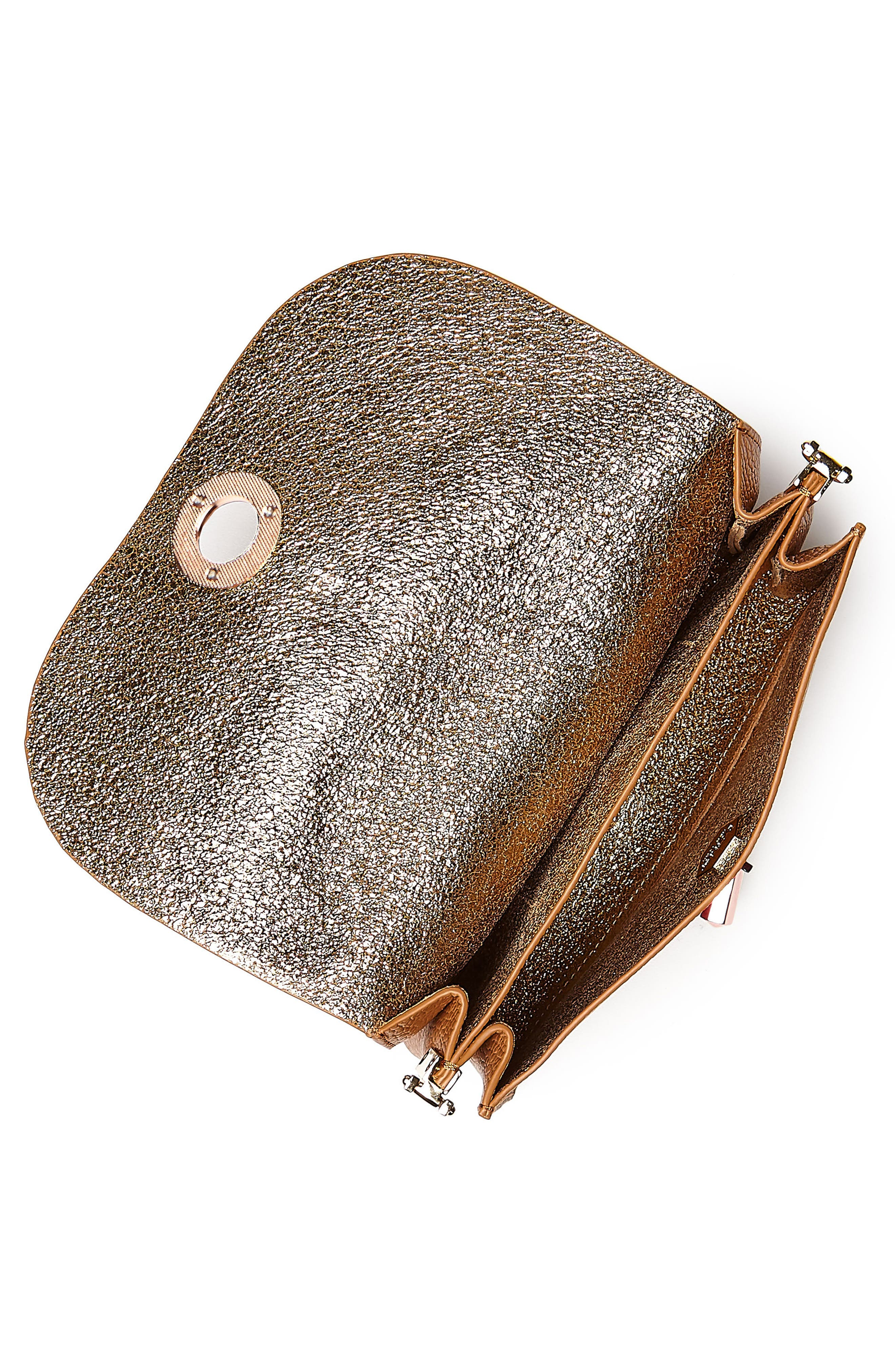 Waverly Leather Crossbody Bag,                             Alternate thumbnail 12, color,