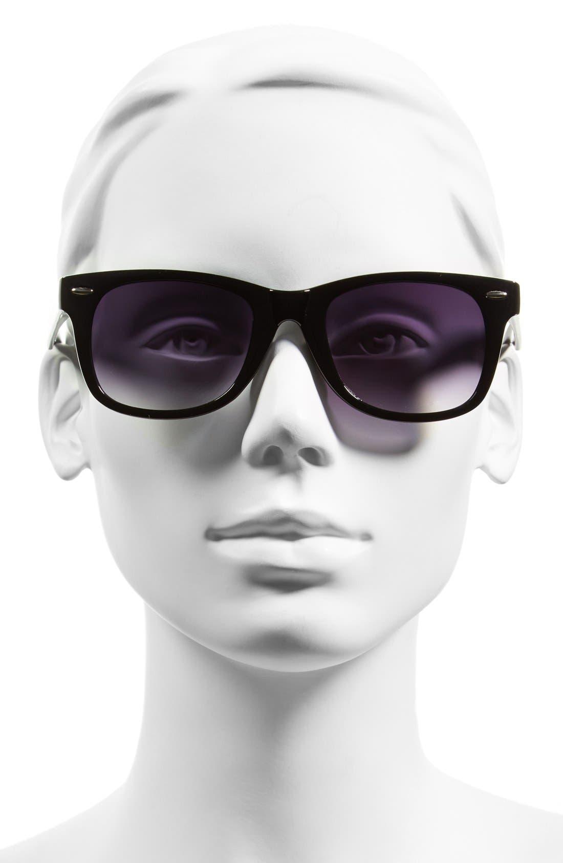 'Skater' 52mm Sunglasses,                             Alternate thumbnail 2, color,                             001