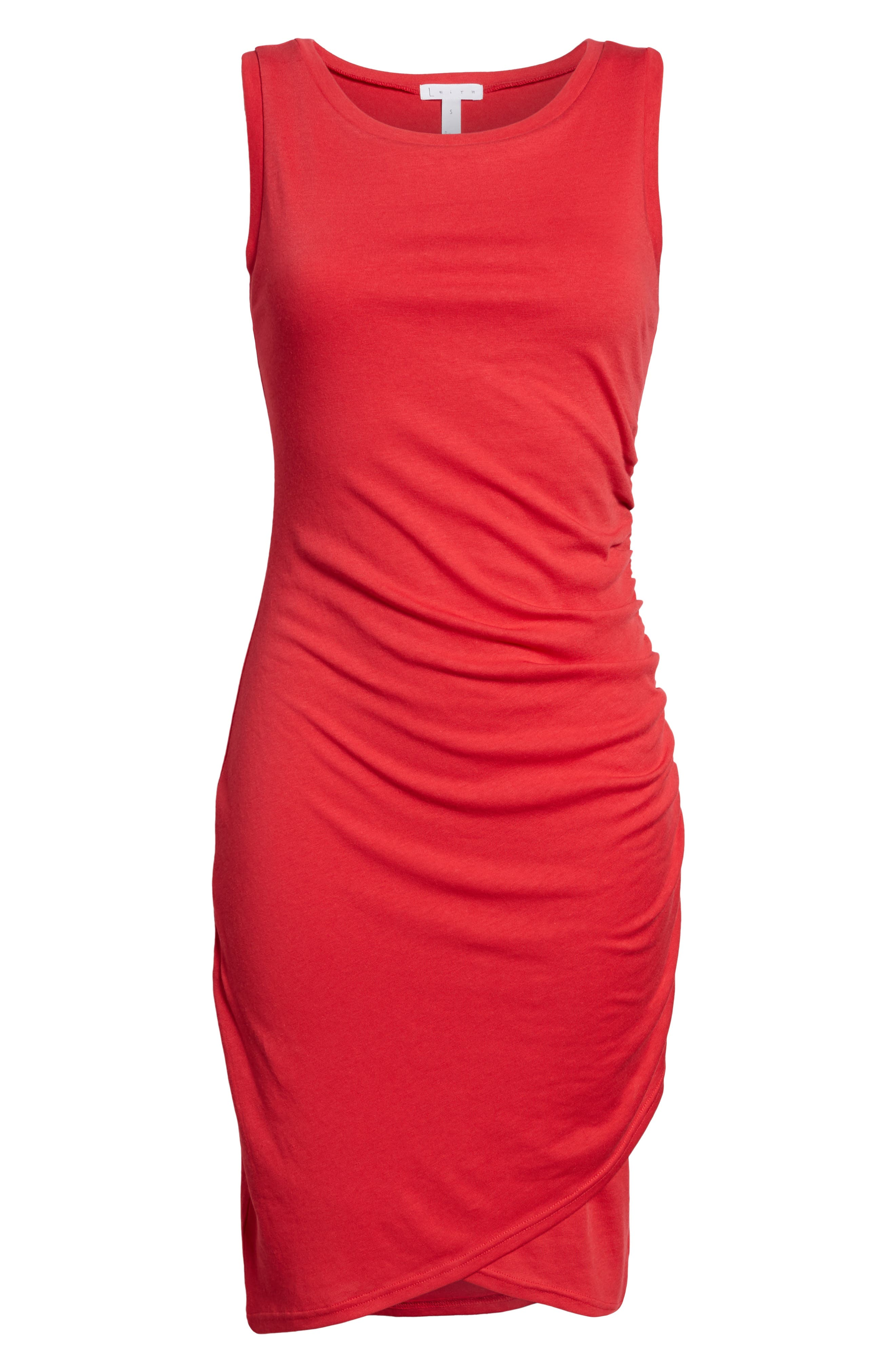 Ruched Body-Con Tank Dress,                             Alternate thumbnail 175, color,