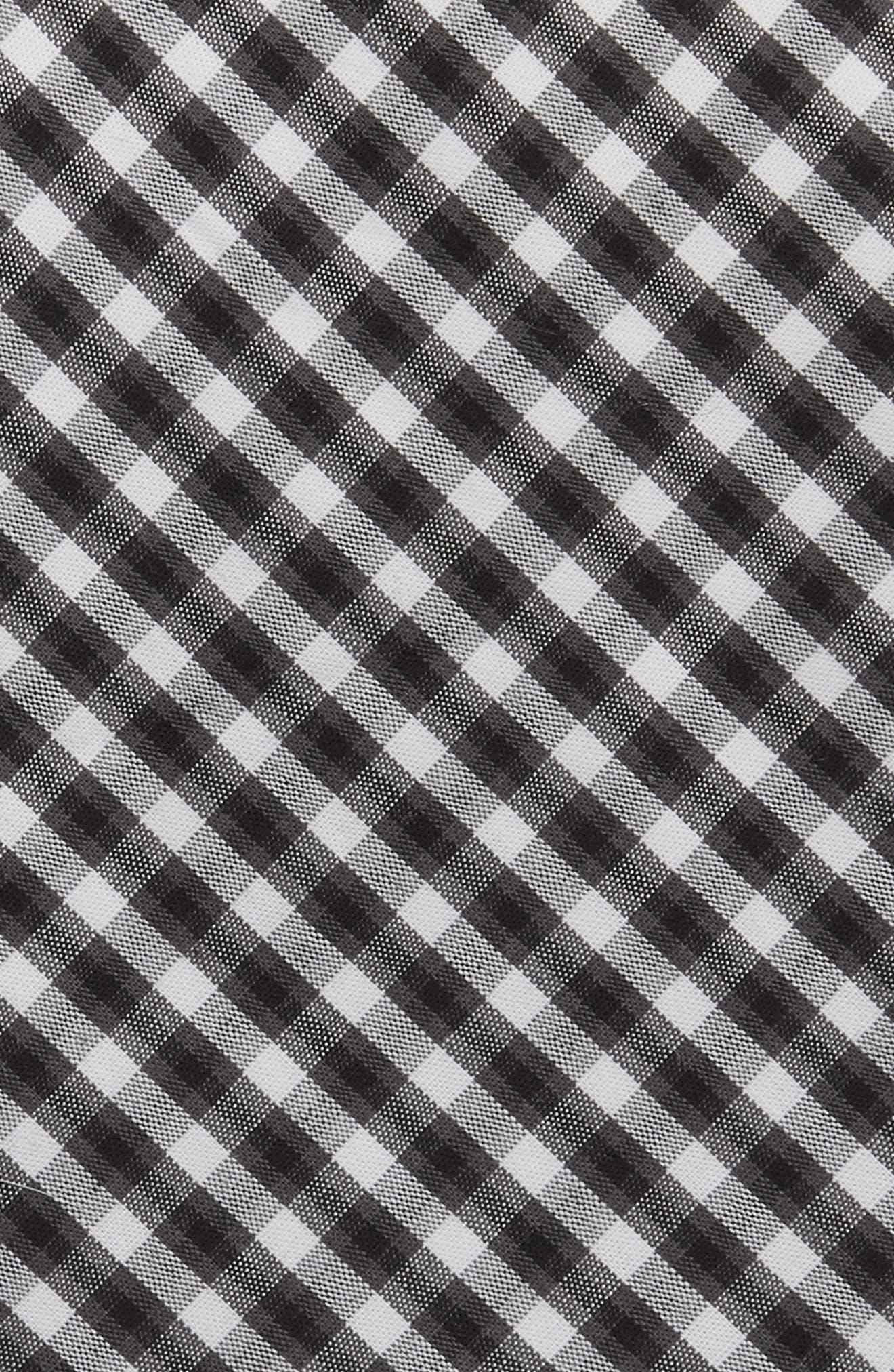 Check Cotton Tie,                             Alternate thumbnail 2, color,                             001
