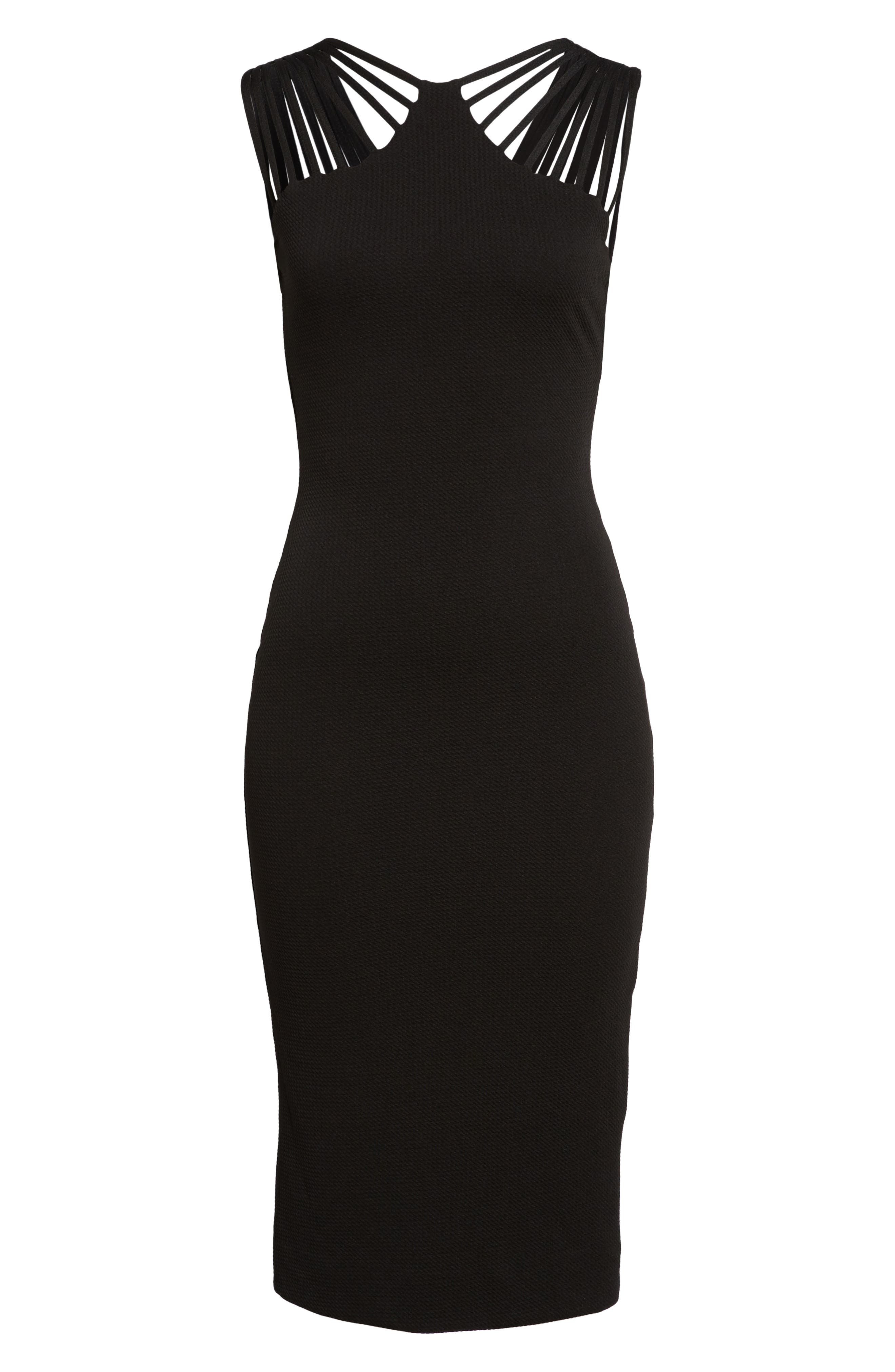 Gwen Midi Dress,                             Main thumbnail 1, color,                             001