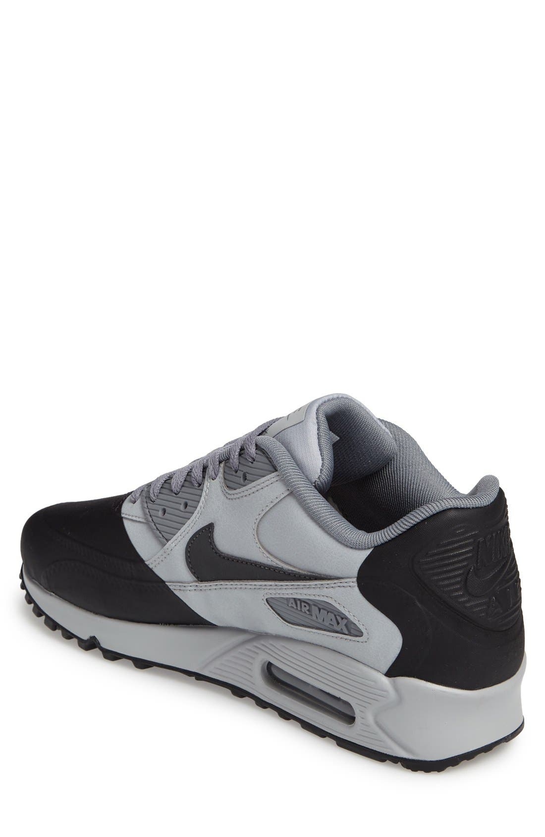 Air Max 90 Premium Sneaker,                             Alternate thumbnail 12, color,