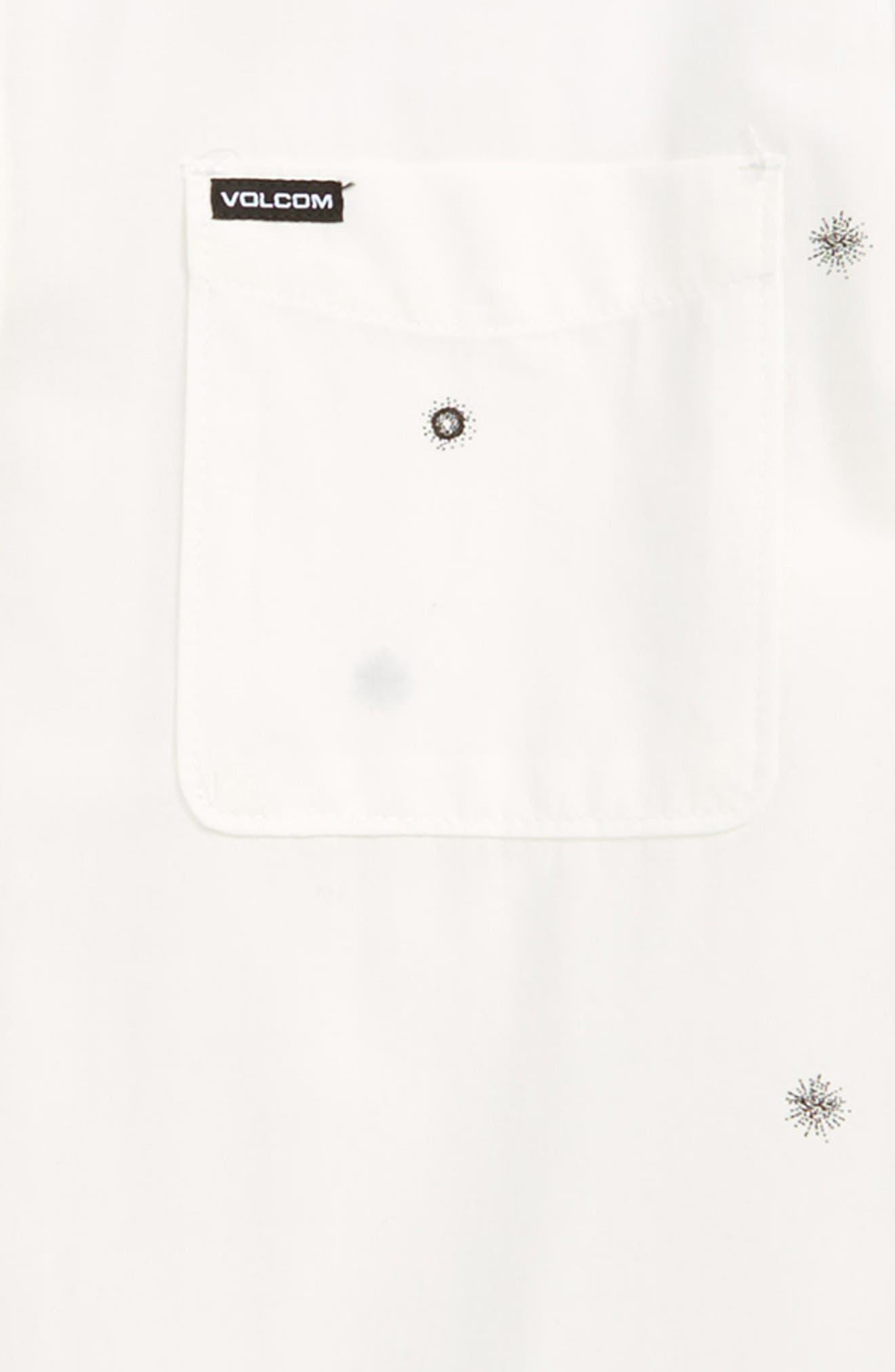 Bleeker Print Woven Shirt,                             Alternate thumbnail 2, color,                             100