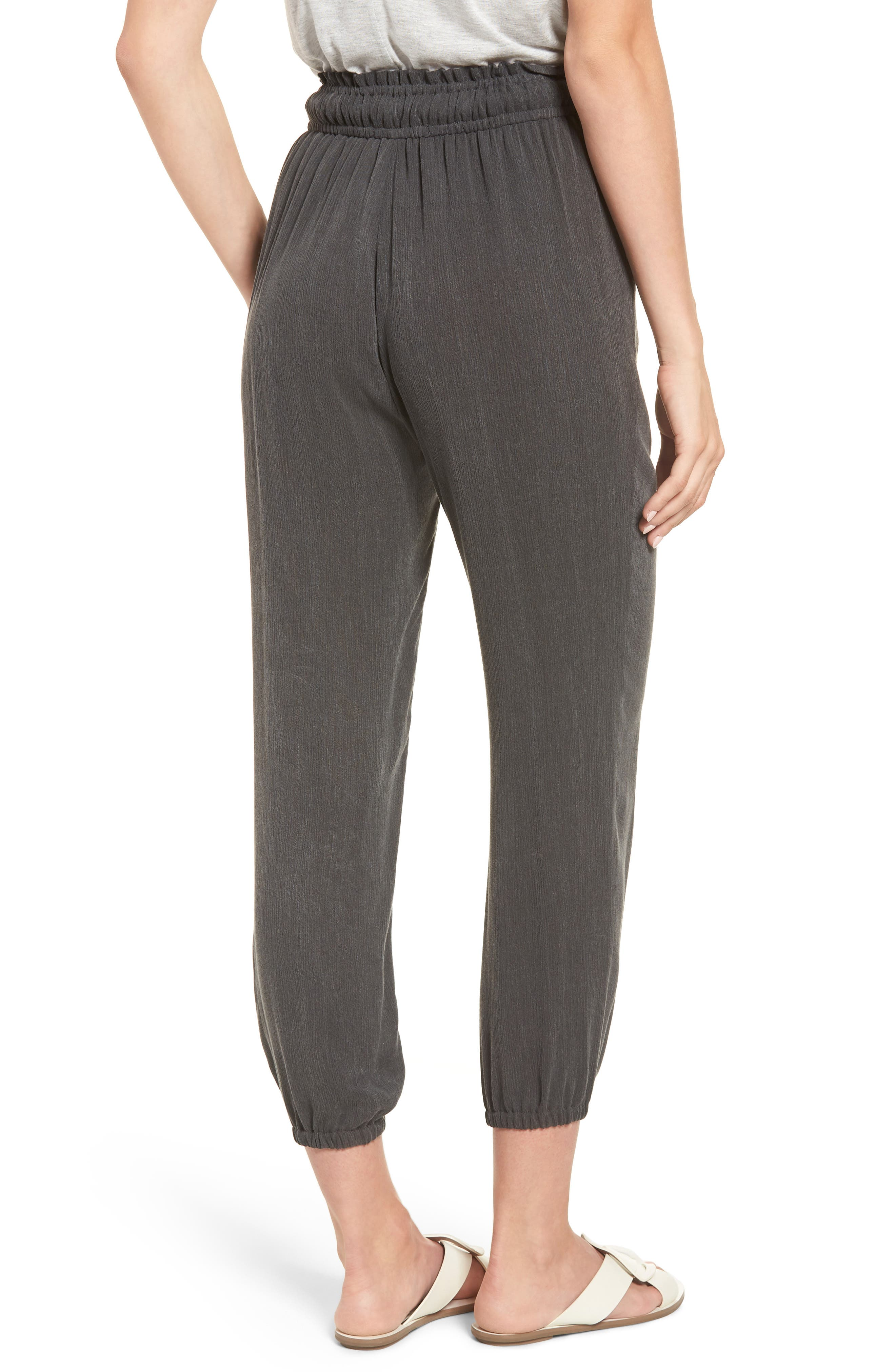 x Hi Sugarplum! Hanalei Soft Jogger Pants,                             Alternate thumbnail 2, color,                             001