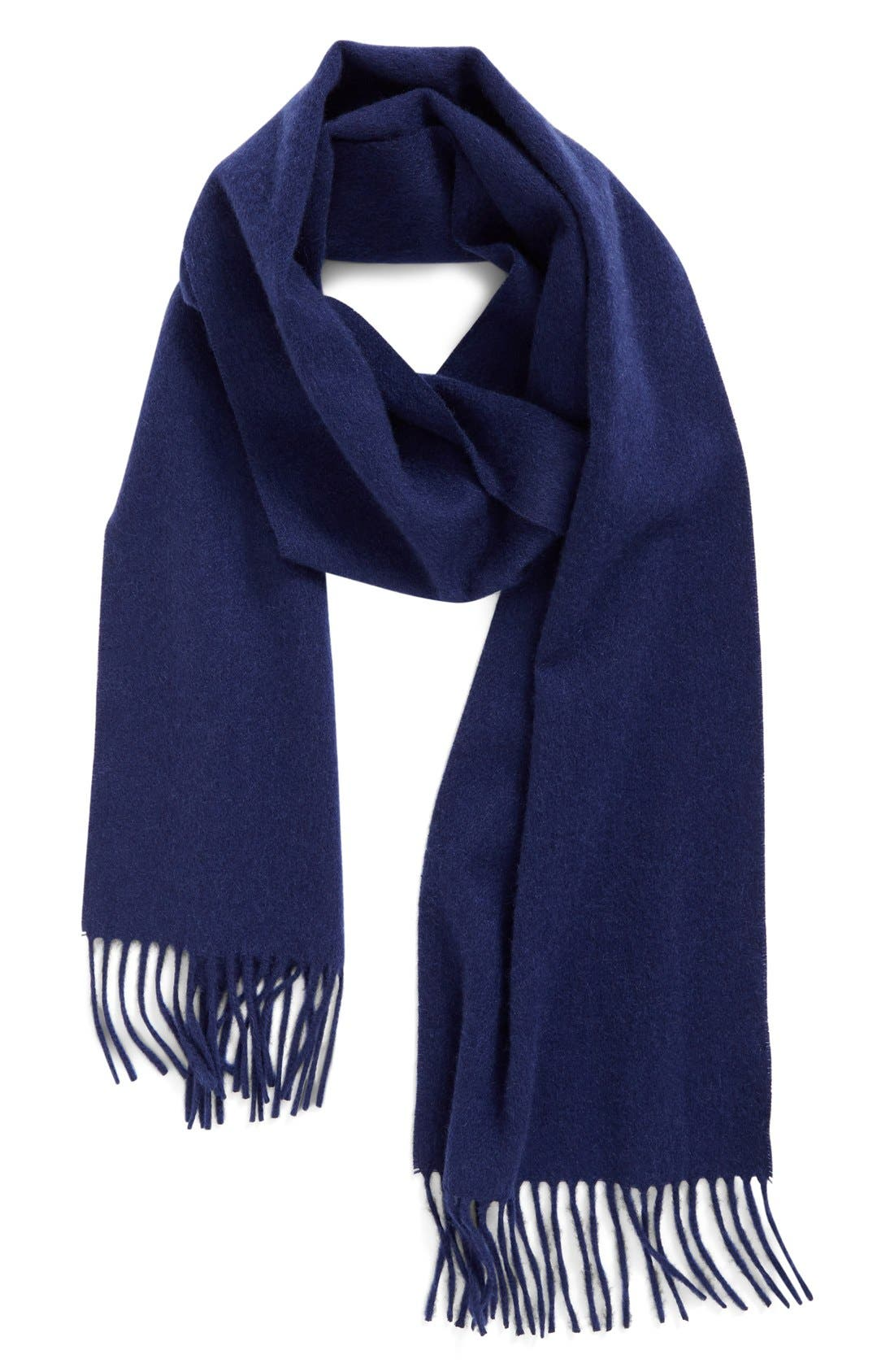 Solid Woven Cashmere Scarf,                             Main thumbnail 9, color,