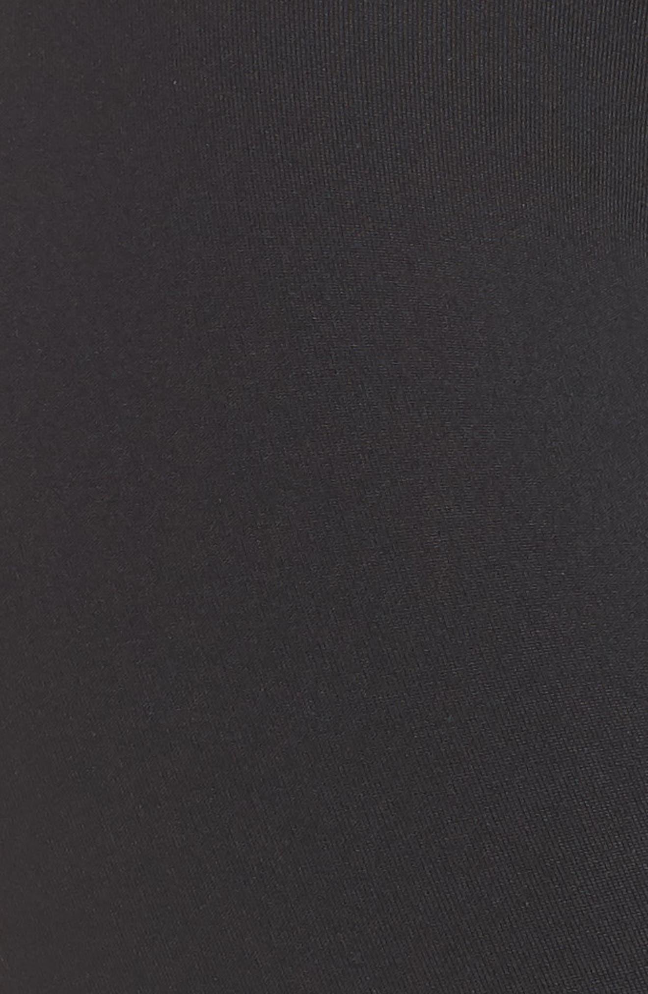 Rose Perfect High Waist Leggings,                             Alternate thumbnail 6, color,                             VINTAGE BLACK