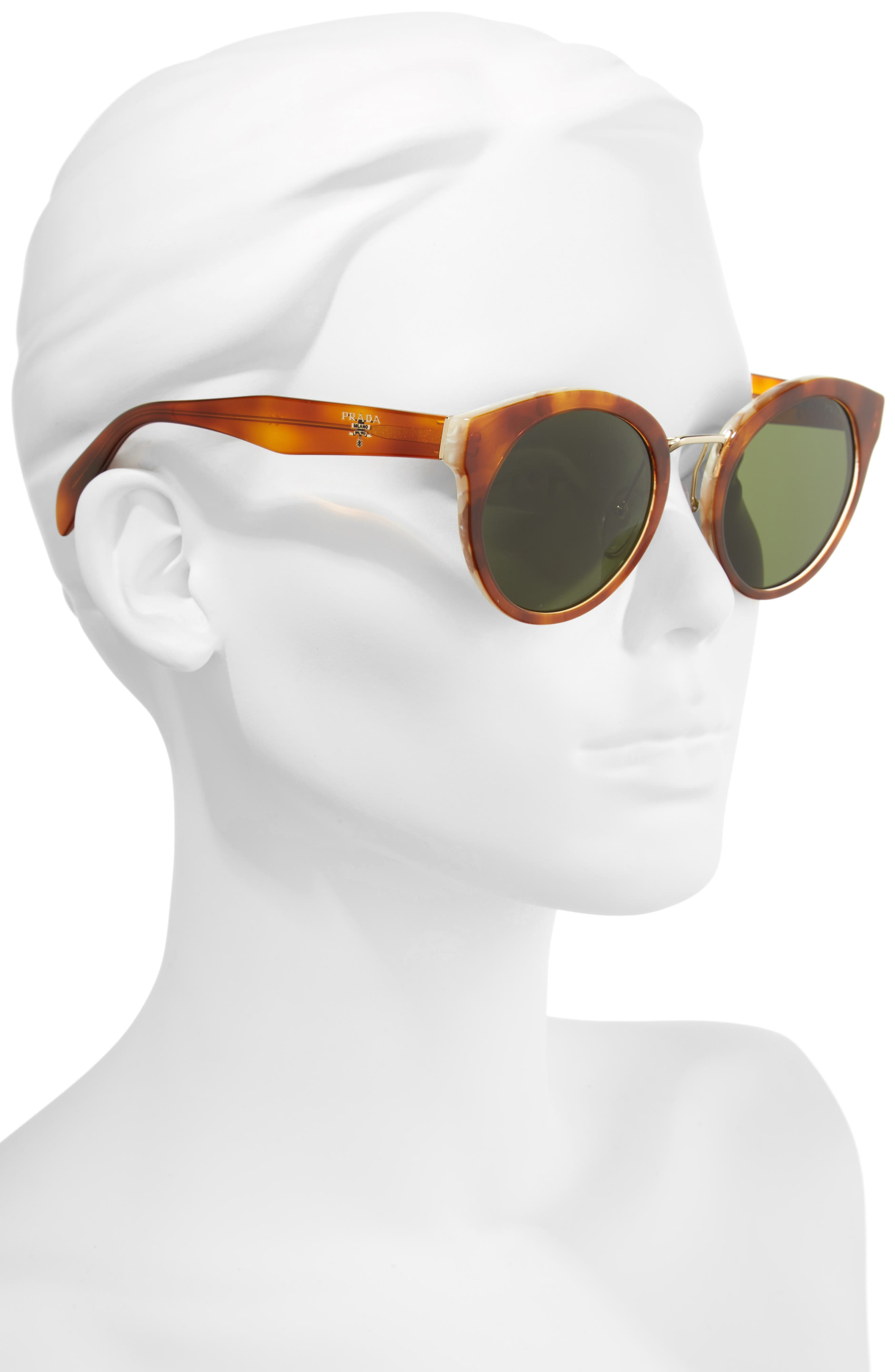 53mm Cat Eye Sunglasses,                             Alternate thumbnail 2, color,                             200