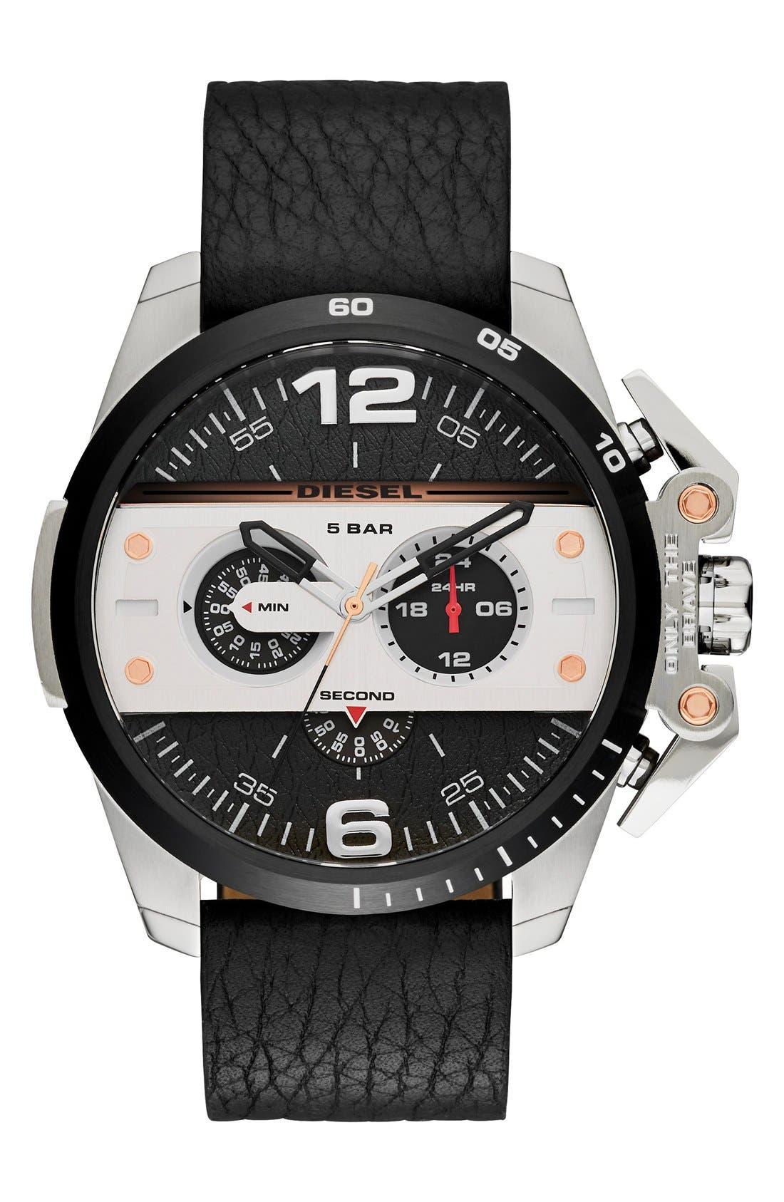 'Ironside' Chronograph Watch, 48mm,                             Main thumbnail 1, color,                             001