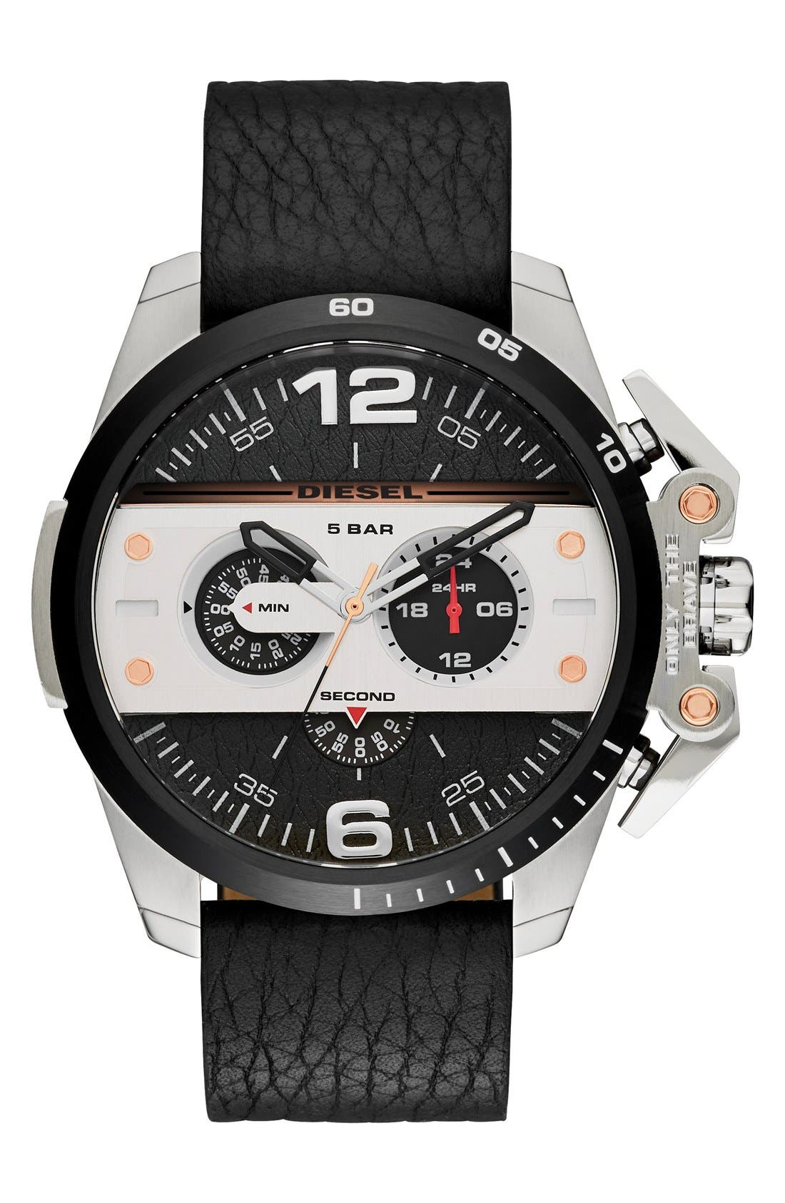 'Ironside' Chronograph Watch, 48mm,                         Main,                         color, 001