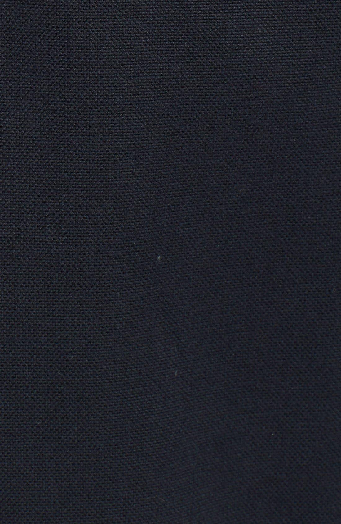 PATRIK ERVELL,                             Heavyweight Cotton Oxford Shirt,                             Alternate thumbnail 3, color,                             001