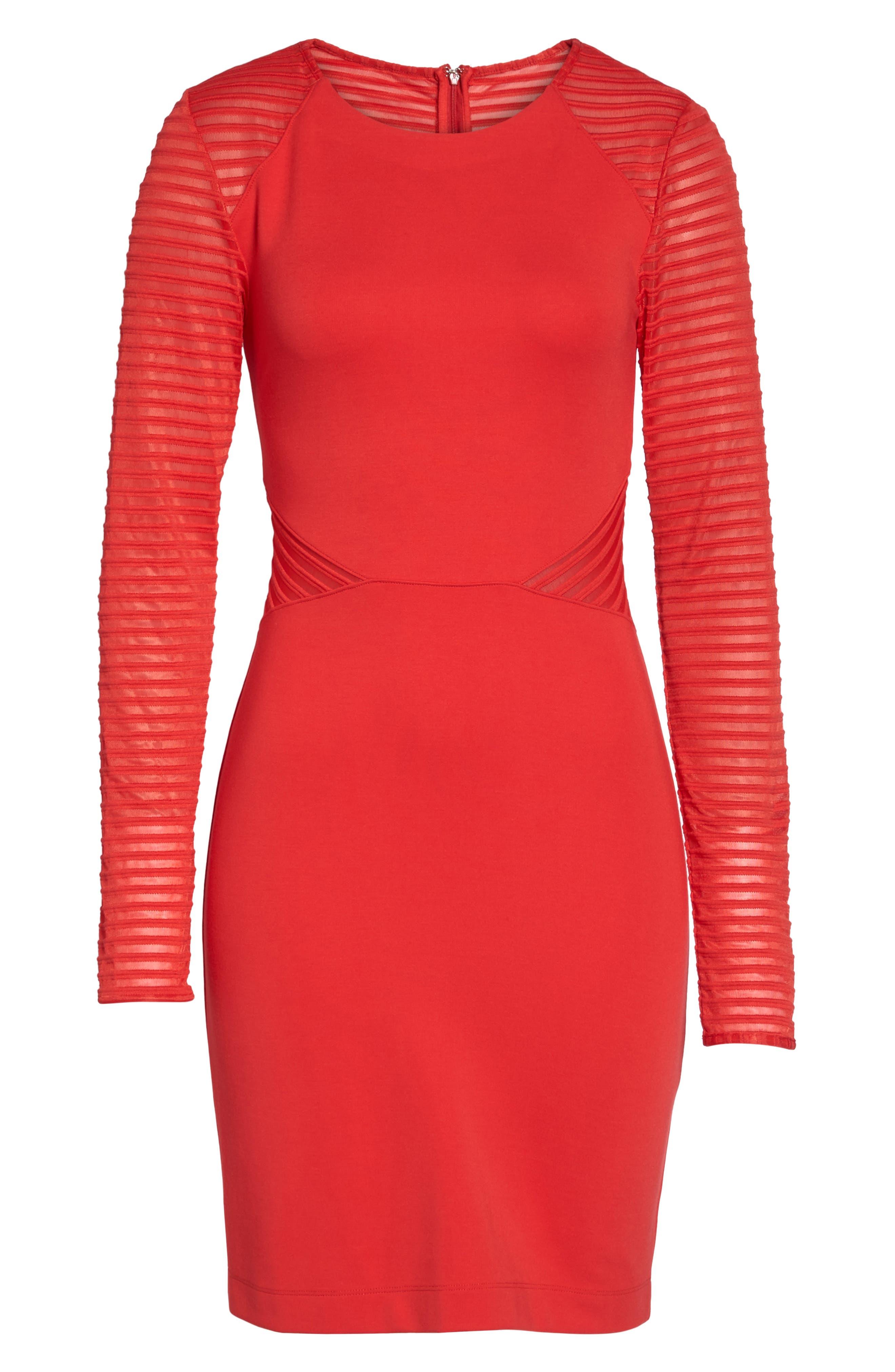 Thiestis Body-Con Dress,                             Alternate thumbnail 12, color,