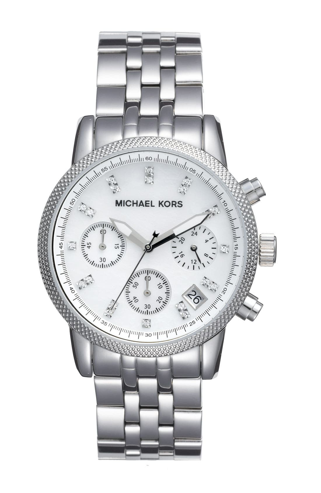 Michael Kors 'The Ritz' Chronograph Bracelet Watch, 36mm,                             Main thumbnail 8, color,