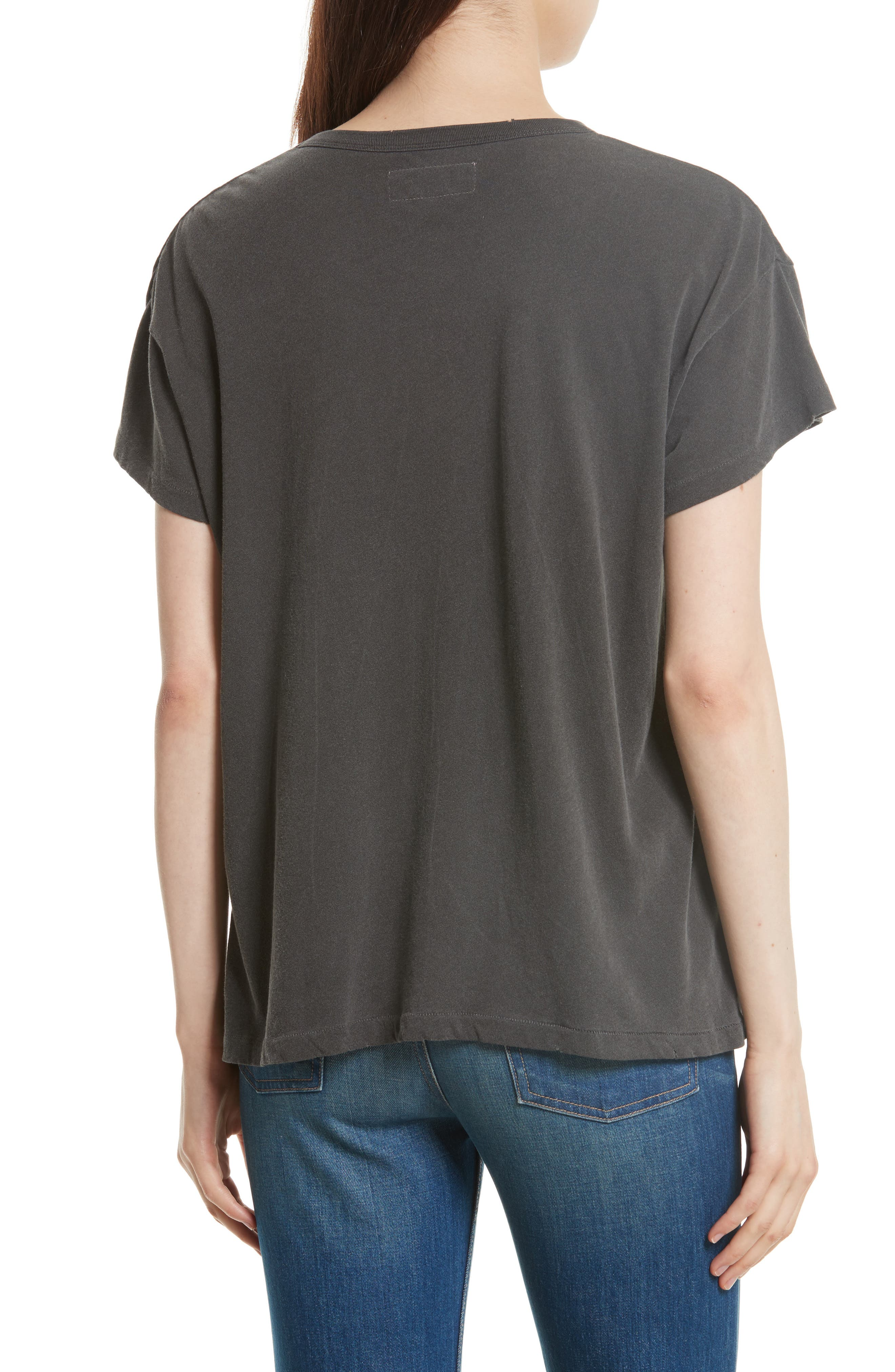 The Boxy Graphic Tee,                             Alternate thumbnail 5, color,
