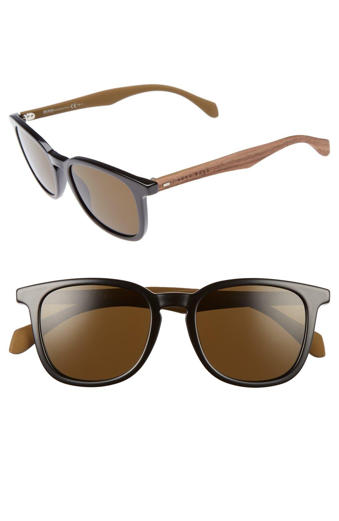 843/S 52mm Sunglasses,                             Main thumbnail 1, color,