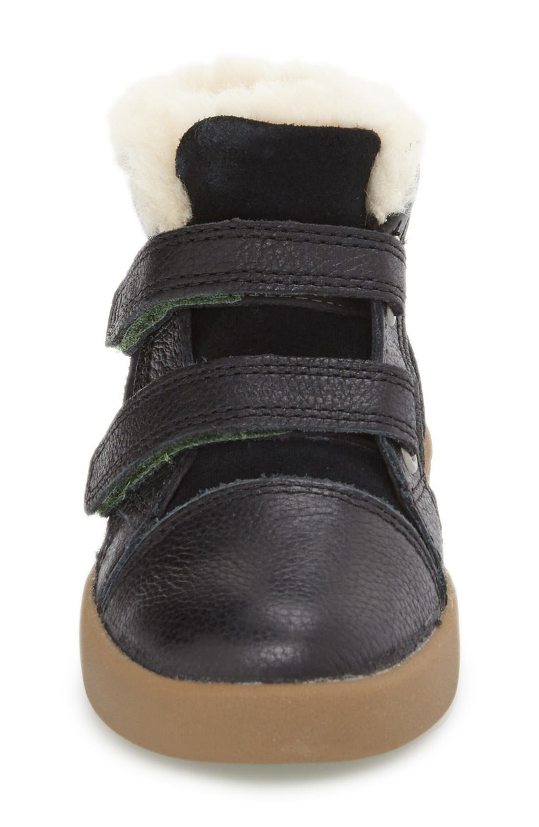 Rennon High Top Sneaker,                             Alternate thumbnail 3, color,                             001