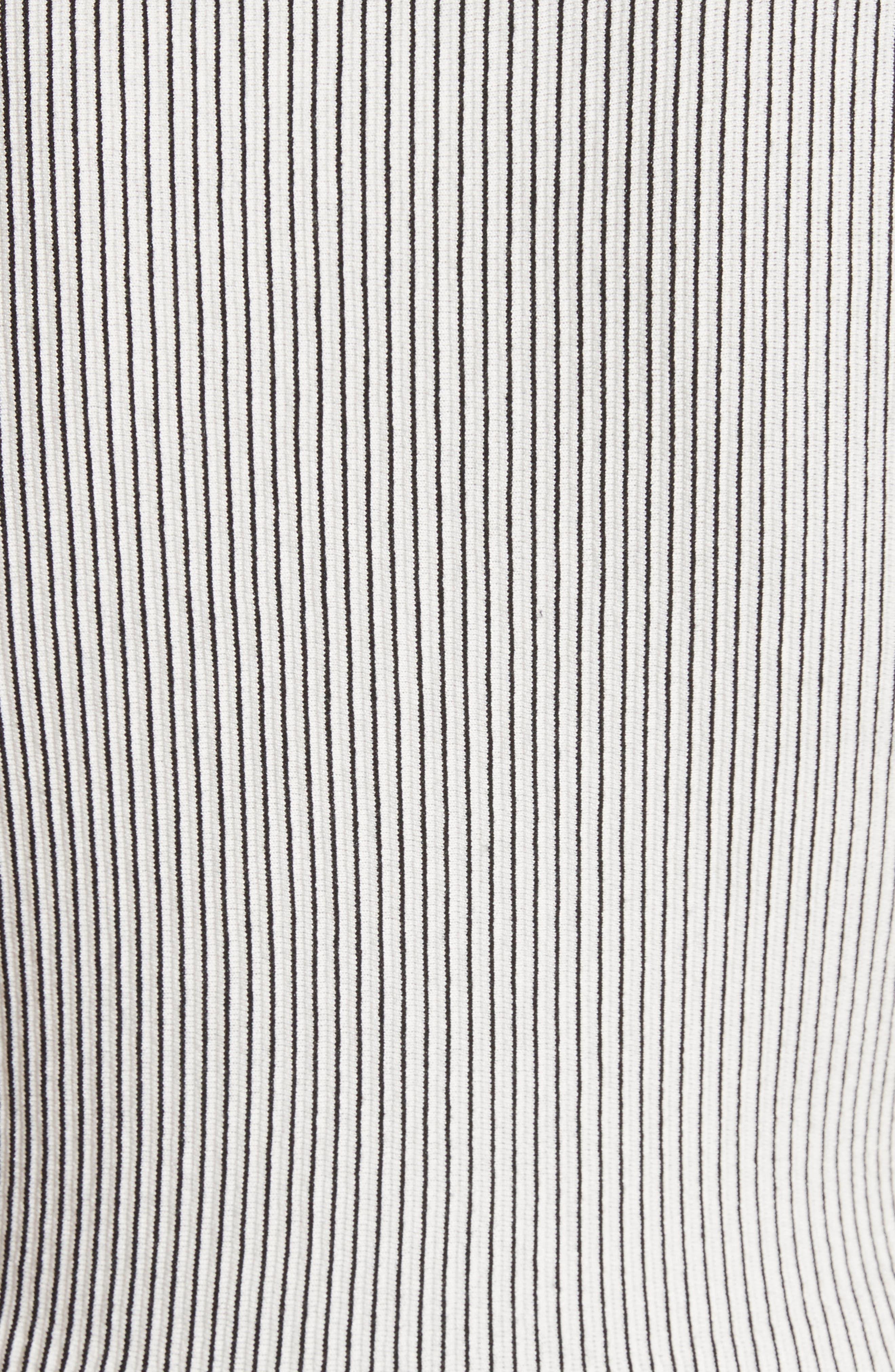 Canelis Prosecco Sleeveless Rib Knit Top,                             Alternate thumbnail 5, color,                             907