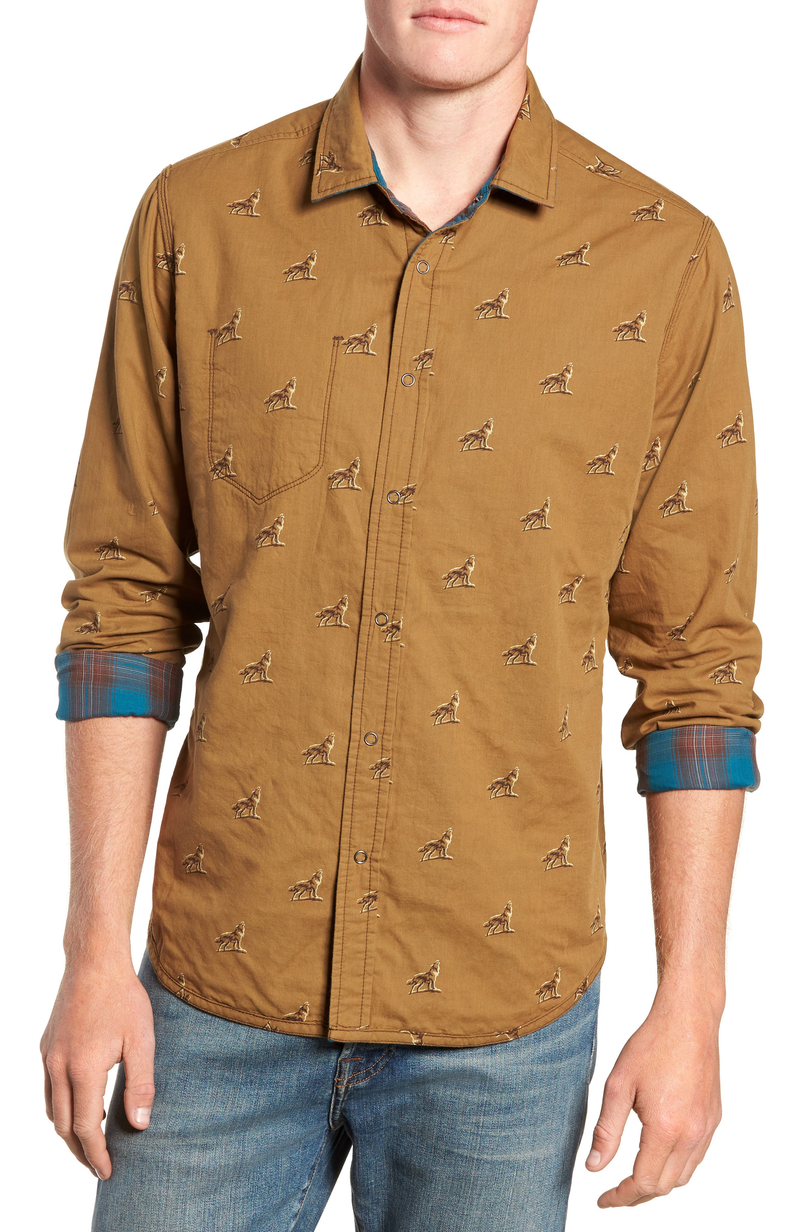 Howler Regular Fit Reversible Sport Shirt,                             Alternate thumbnail 2, color,                             LEGION BLUE HEATHER