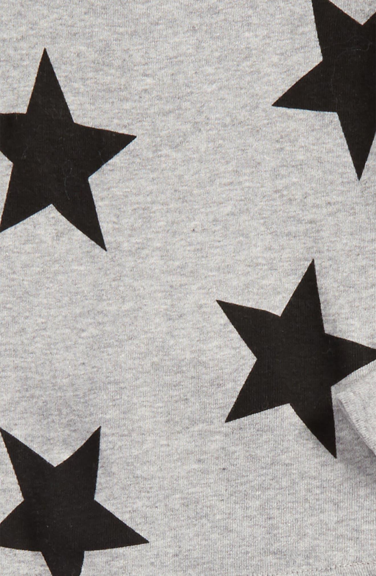 Star Print T-Shirt & Pants Set,                             Alternate thumbnail 2, color,                             050