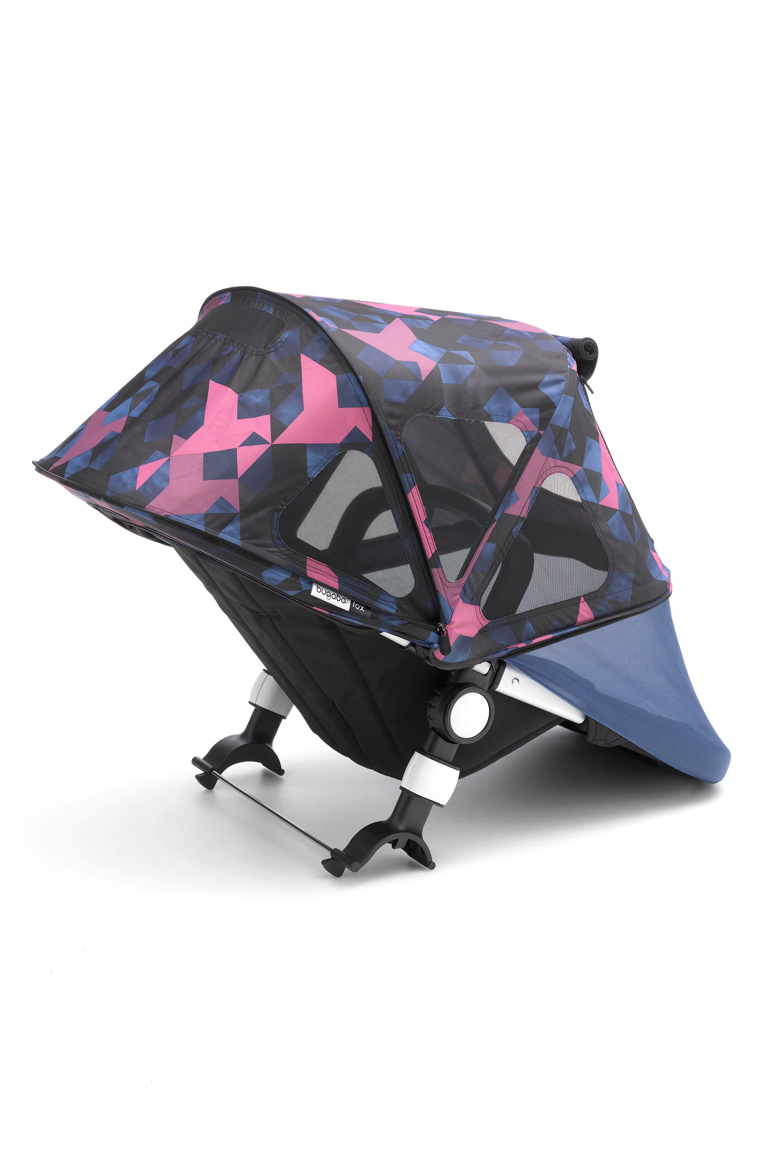 Breezy Birds Sun Canopy for Fox & Cameleon³ Strollers,                             Main thumbnail 1, color,                             BIRDS PRINT